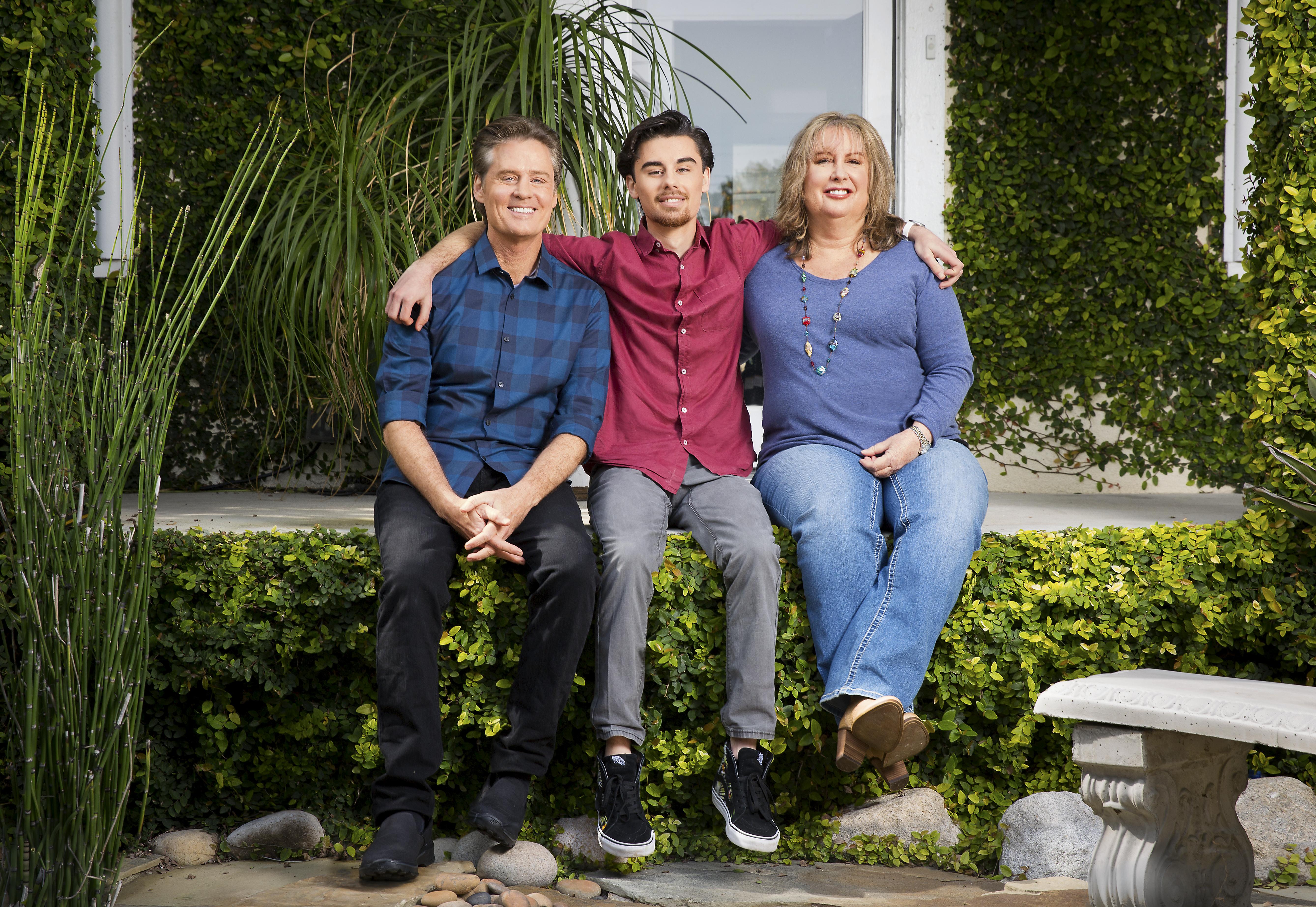 Michael Rubino, Jake y Karen Strassberg