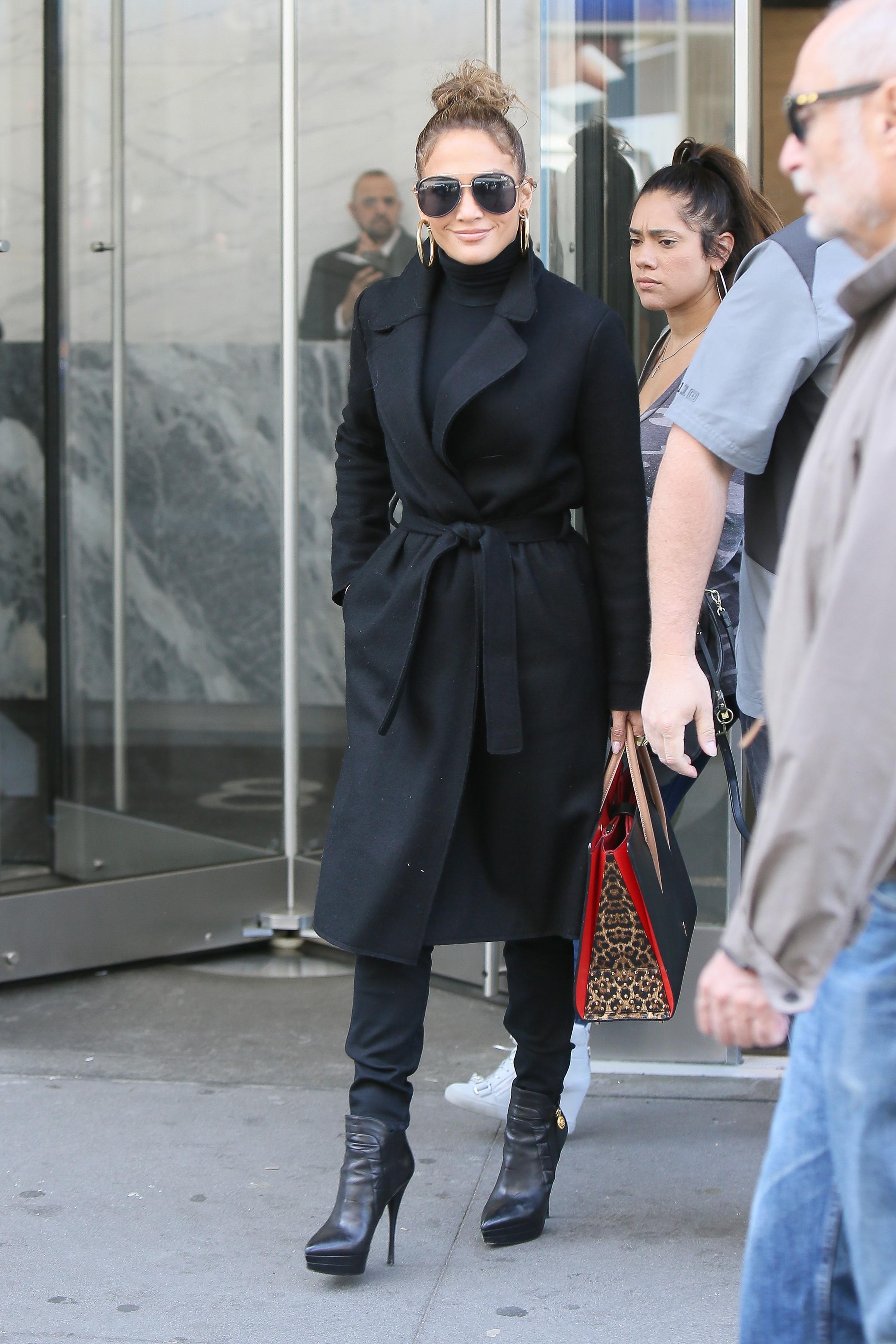 Jennifer Lopez, look