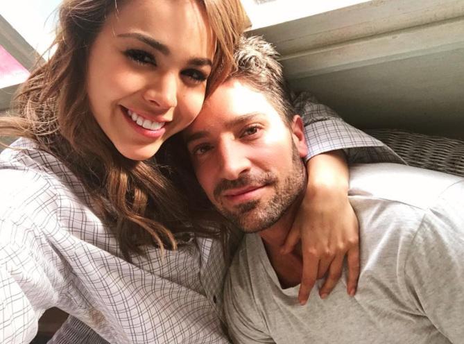 Danna Paola y David Chocarro