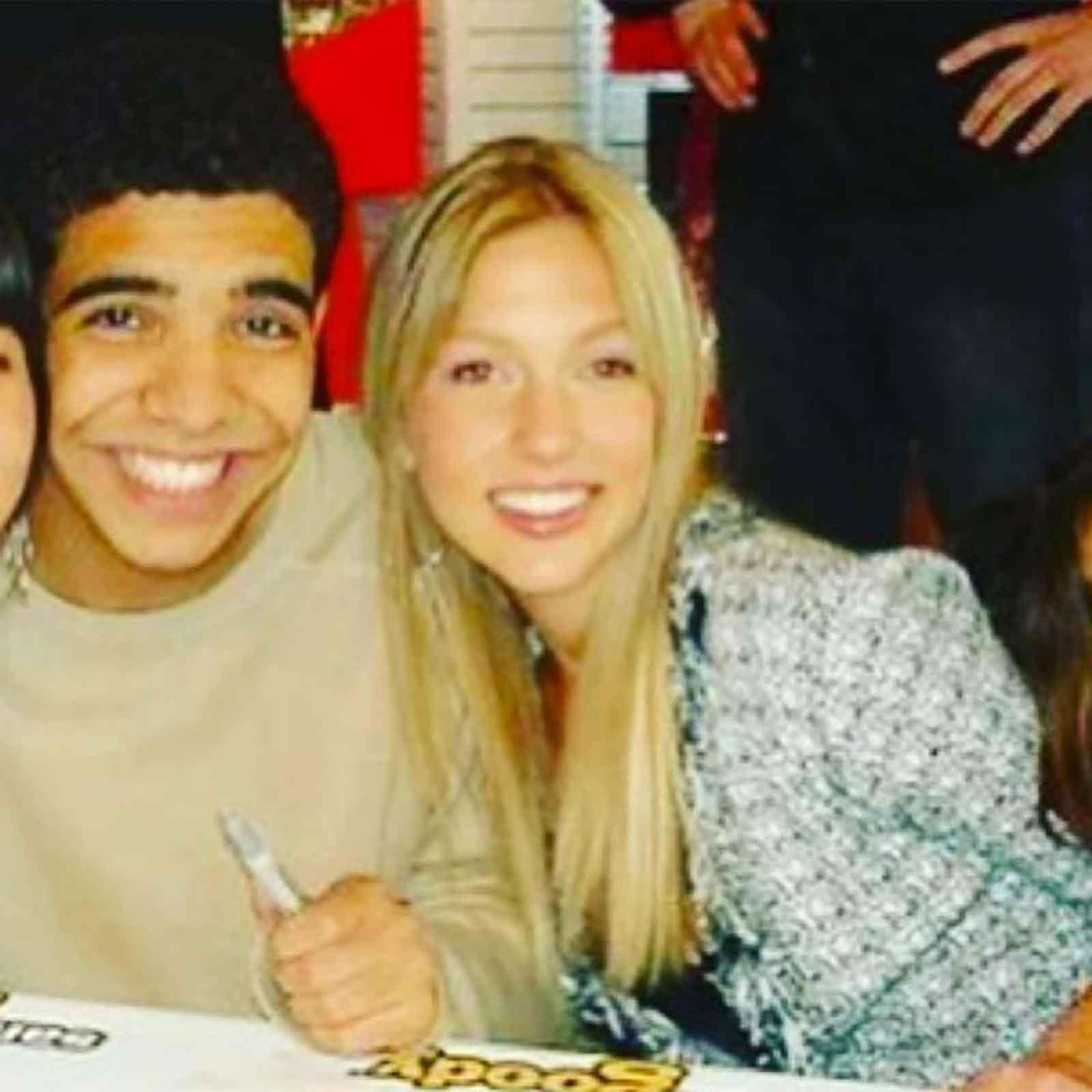 Drake y Miriam Mcdonald