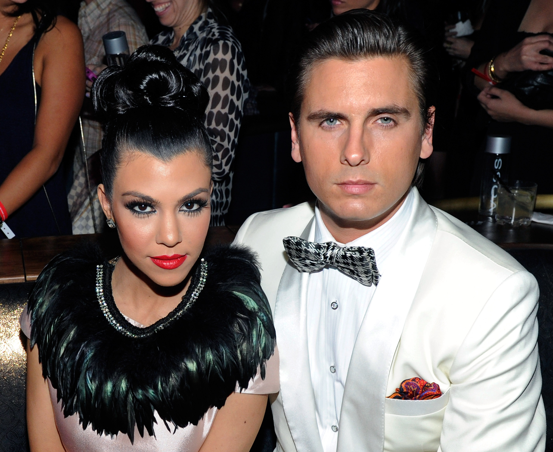 Kourtney Kardashian y Scott Disick