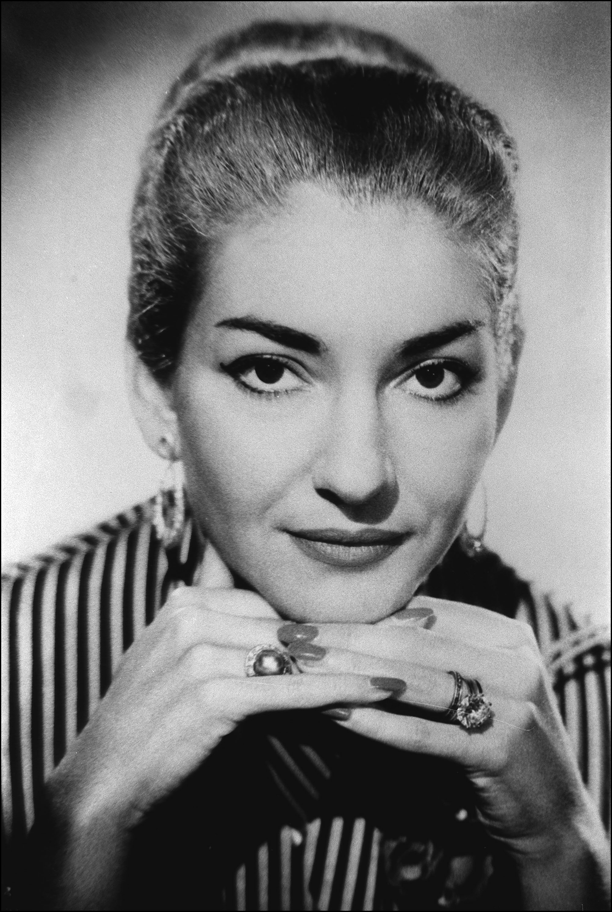 Portrait: Maria Callas In France On January 01, 1987-