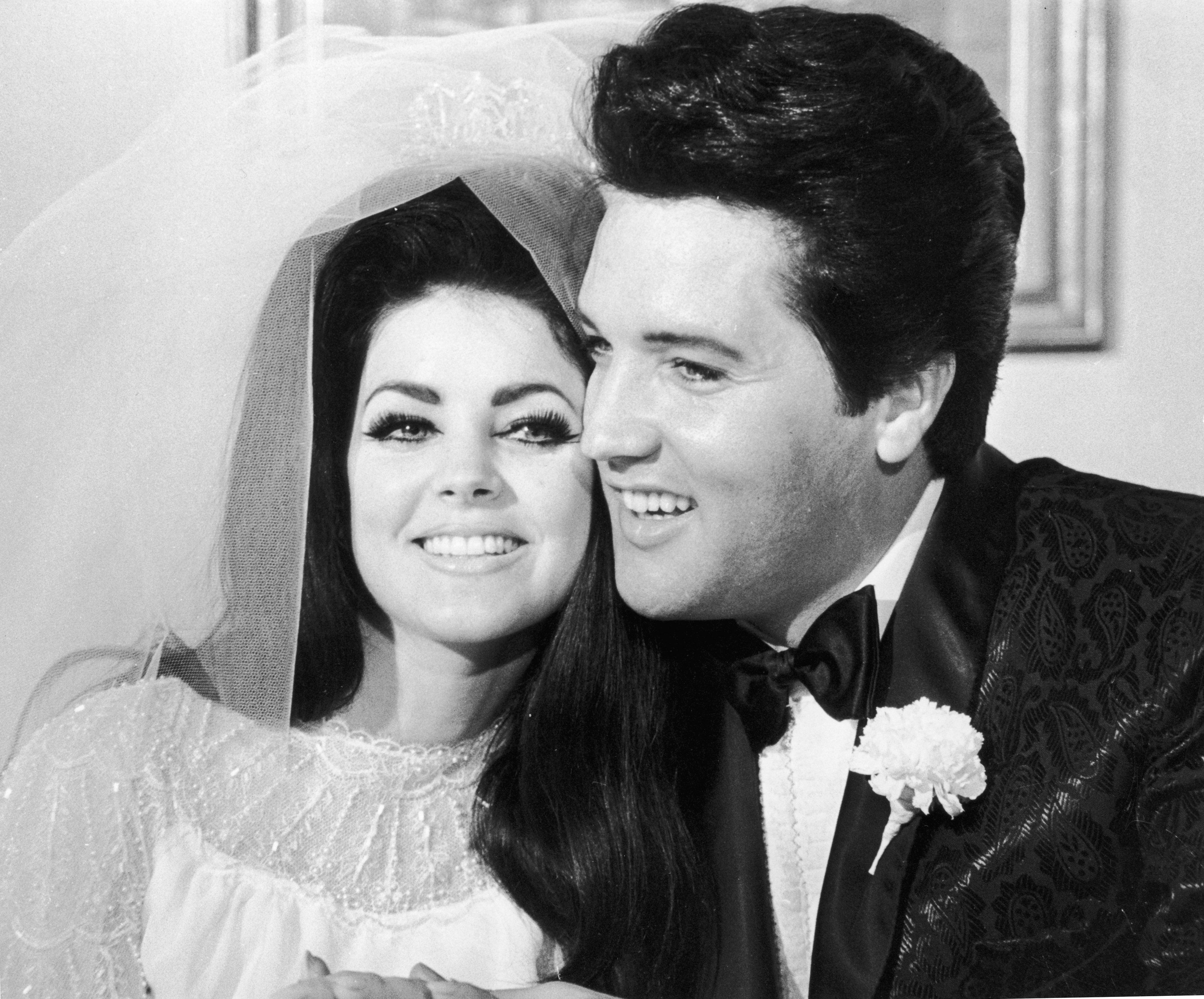 Elvis y Priscilla Presley