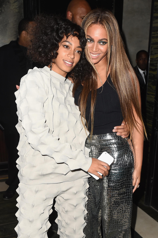 Solange y Beyonce Knowles