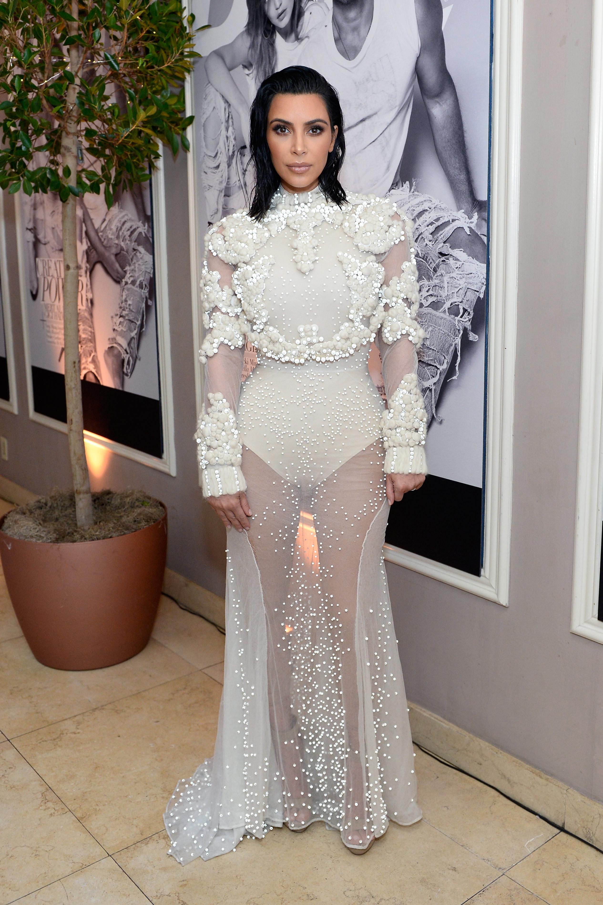 Kim Kardashian, Mamás más fashion