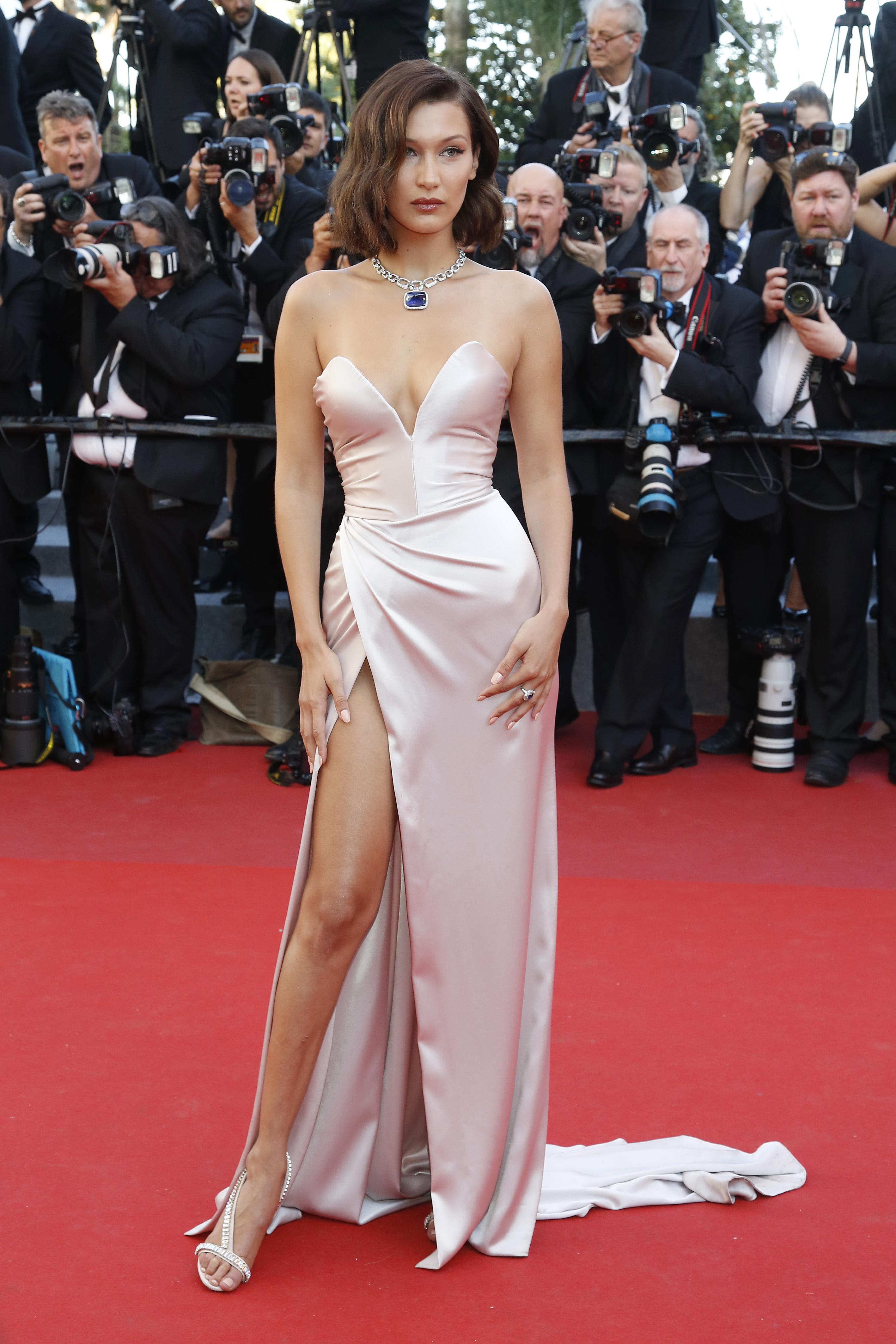 Bella Hadid, style, look, cannes 2017