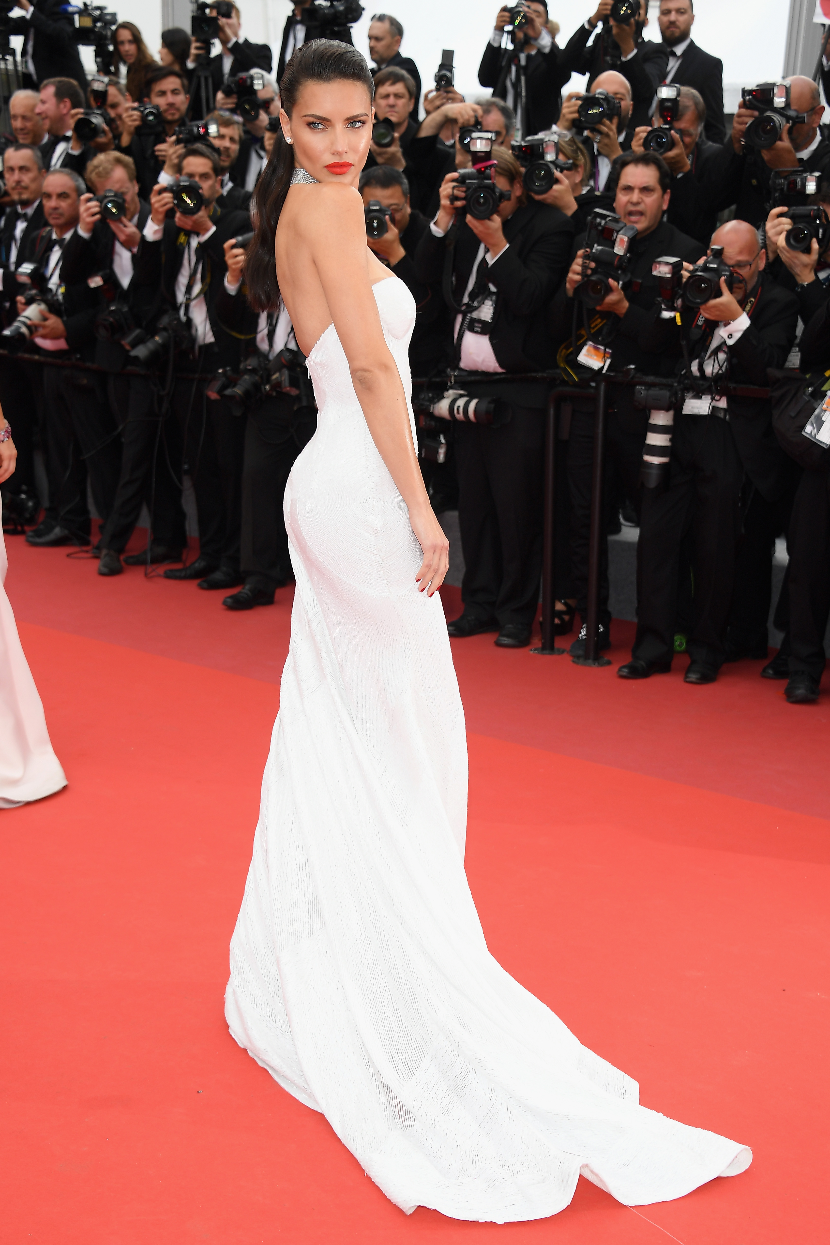 Adriana Lima, look, style, cannes 2017