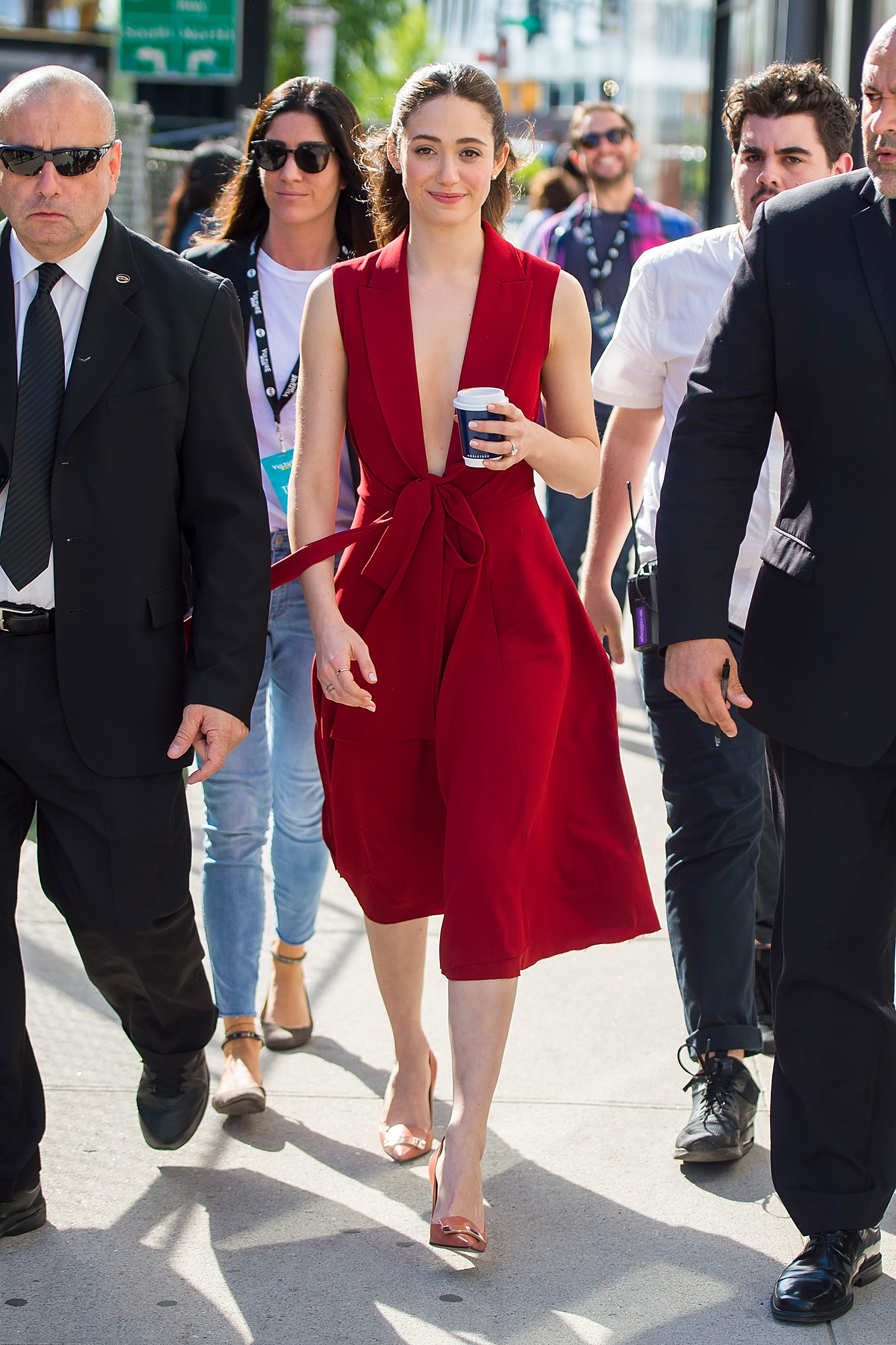 Emmy Rossum, look, style