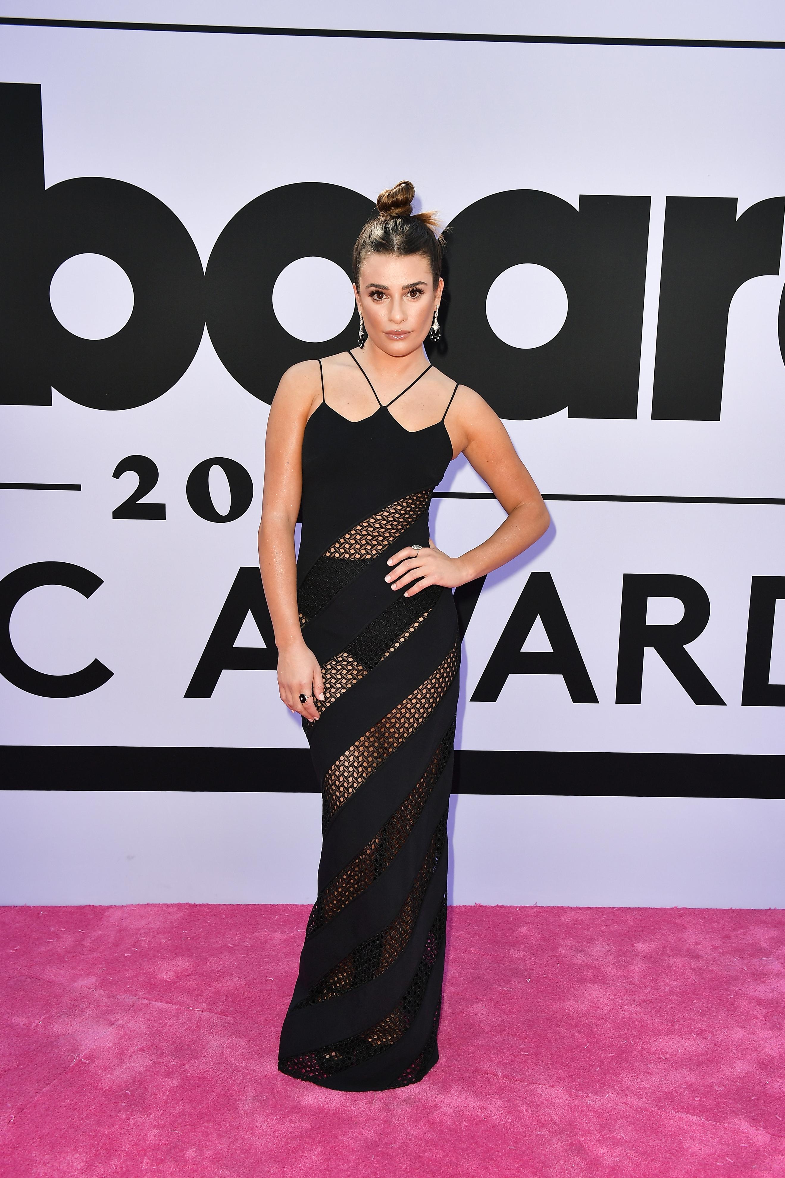 Lea Michele, look, style, Billboard Music Awards