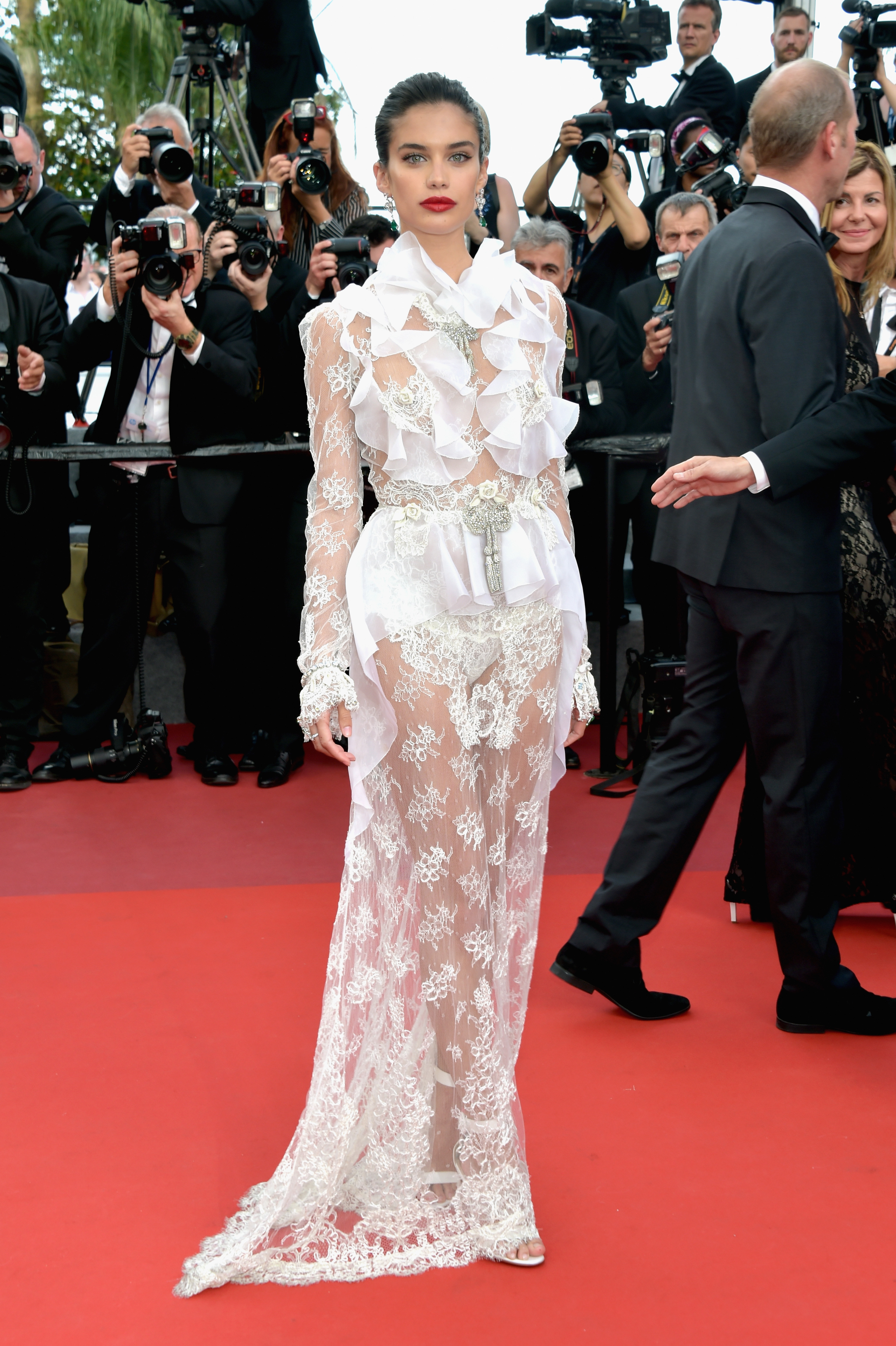 Sara Sampaio, look, style, Cannes, Cannes Film Festival