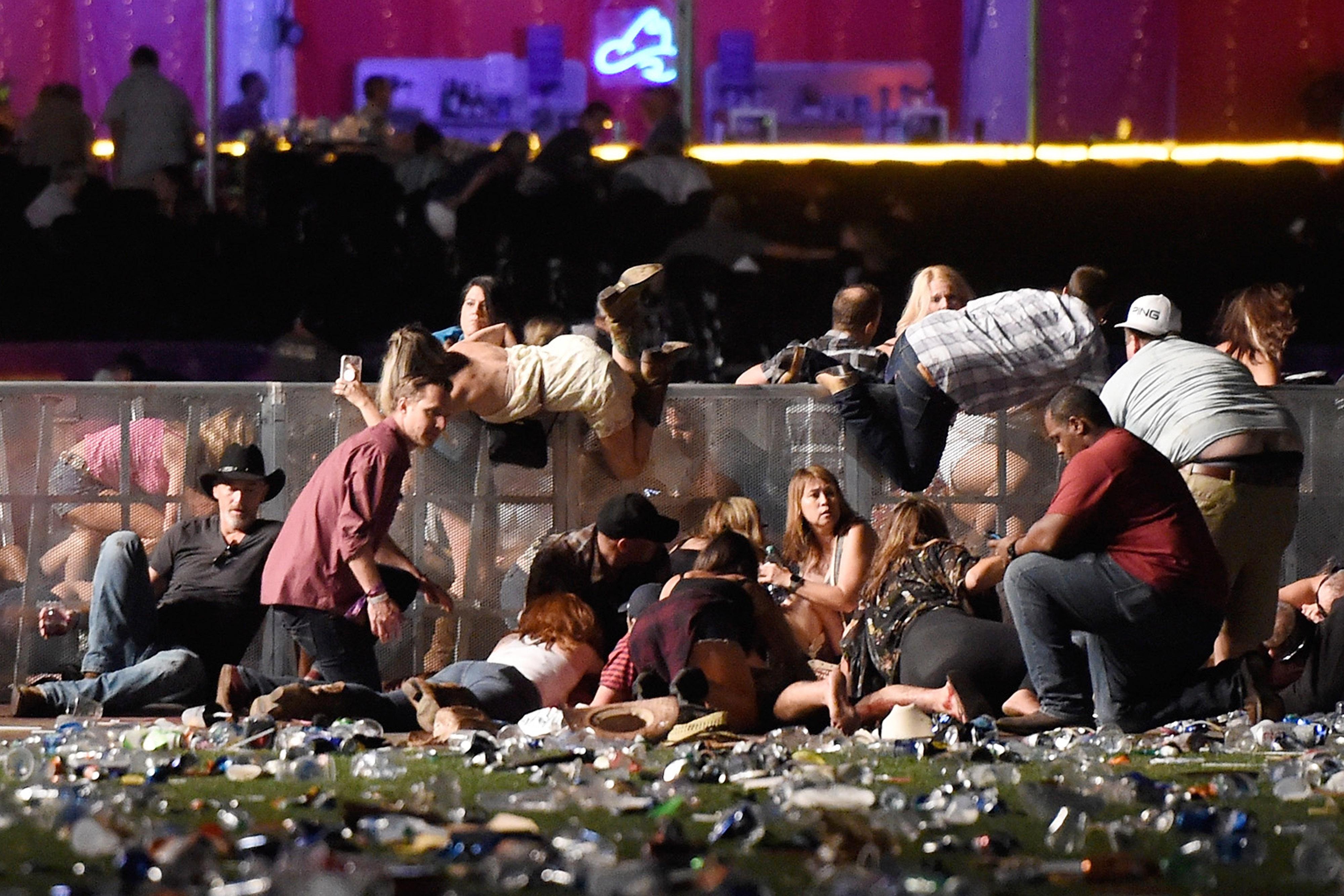 Masacre, Las vegas