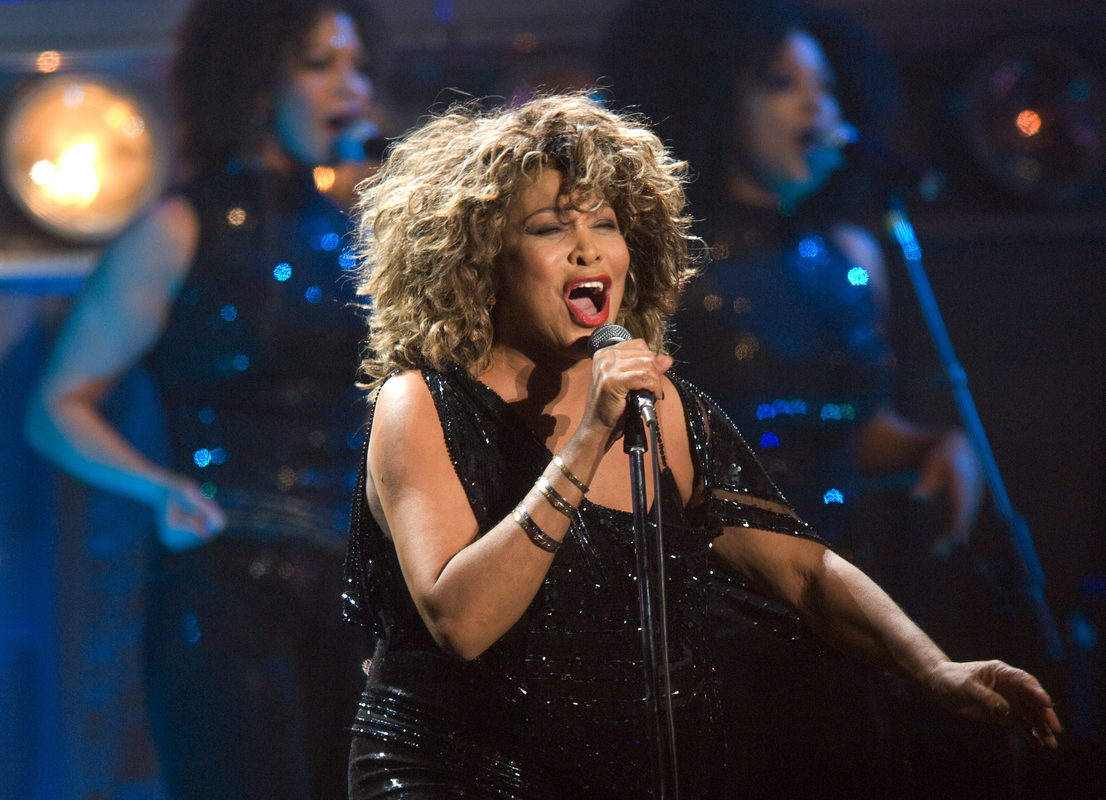 Tina Turner Performs In Arnhem