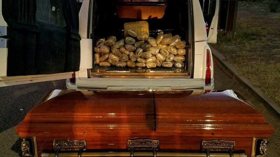 Drugs in Coffin