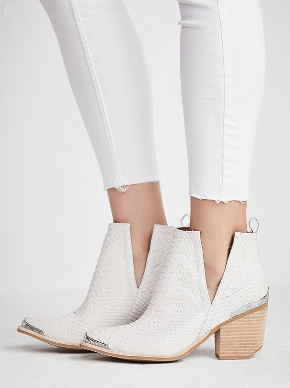 hunt the plains boot free people in white 198