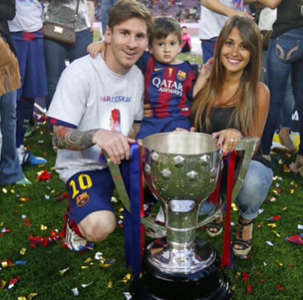 Leo Messi y Anotnella Roccuzzo 6