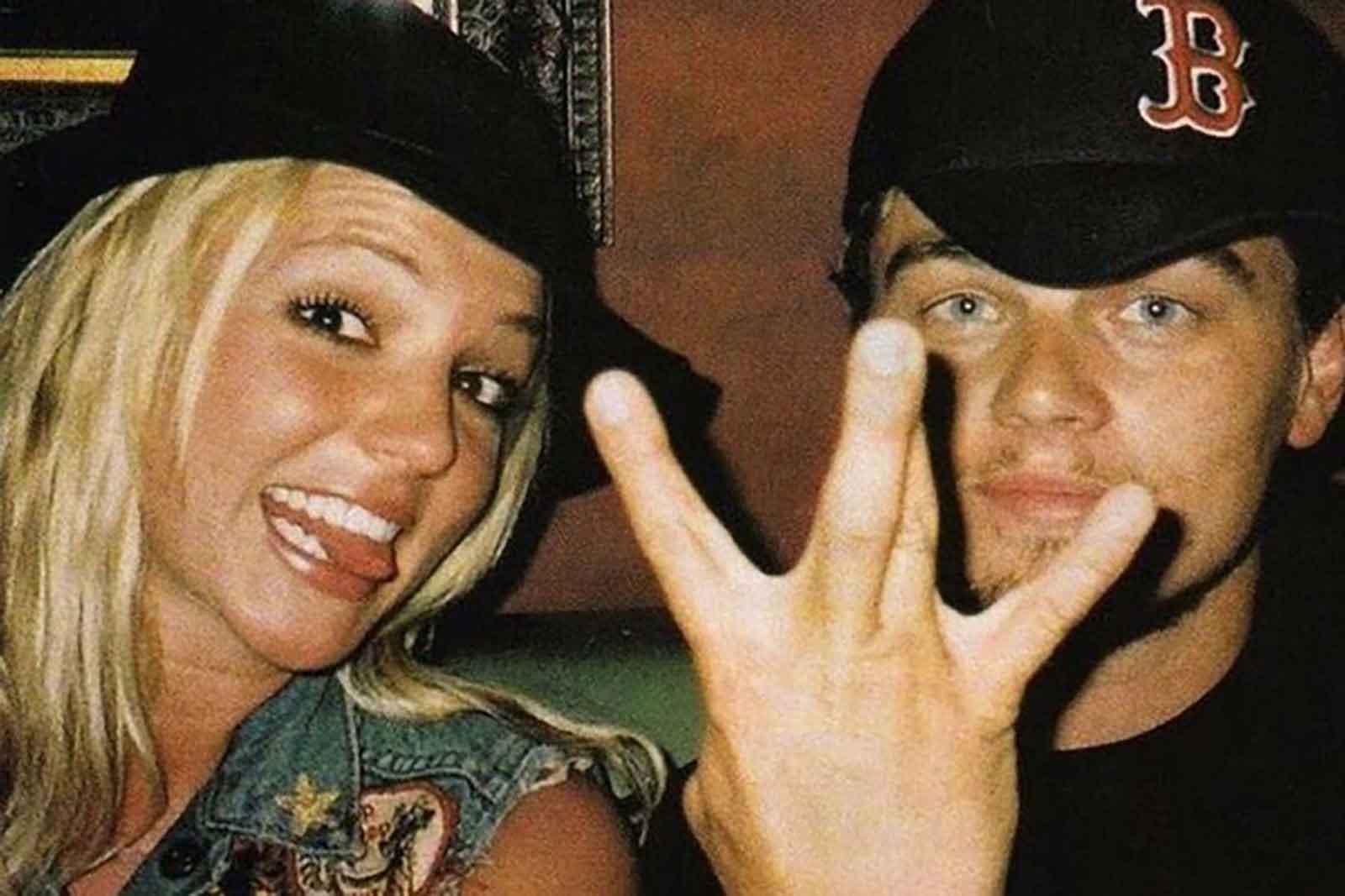 Britney Spears y Leonardo Dicaprio