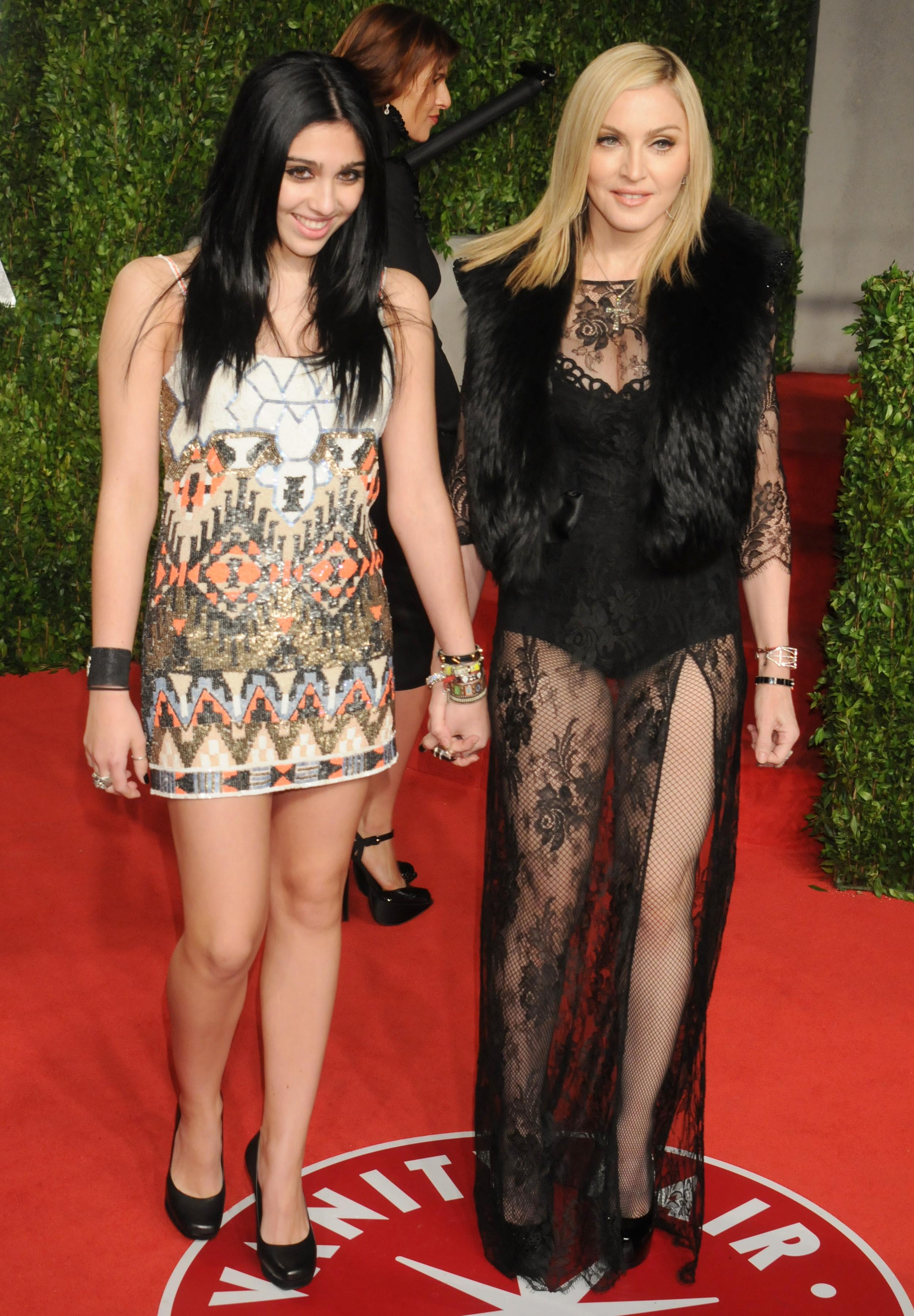 Madonna y Lourdes Leon