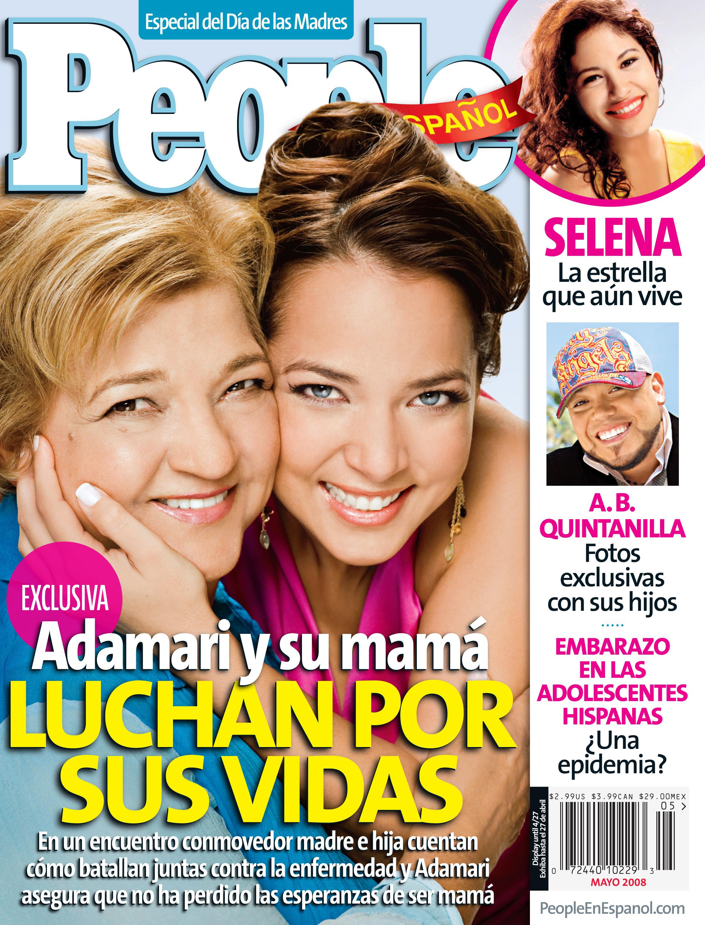 Adamari López y su mamá