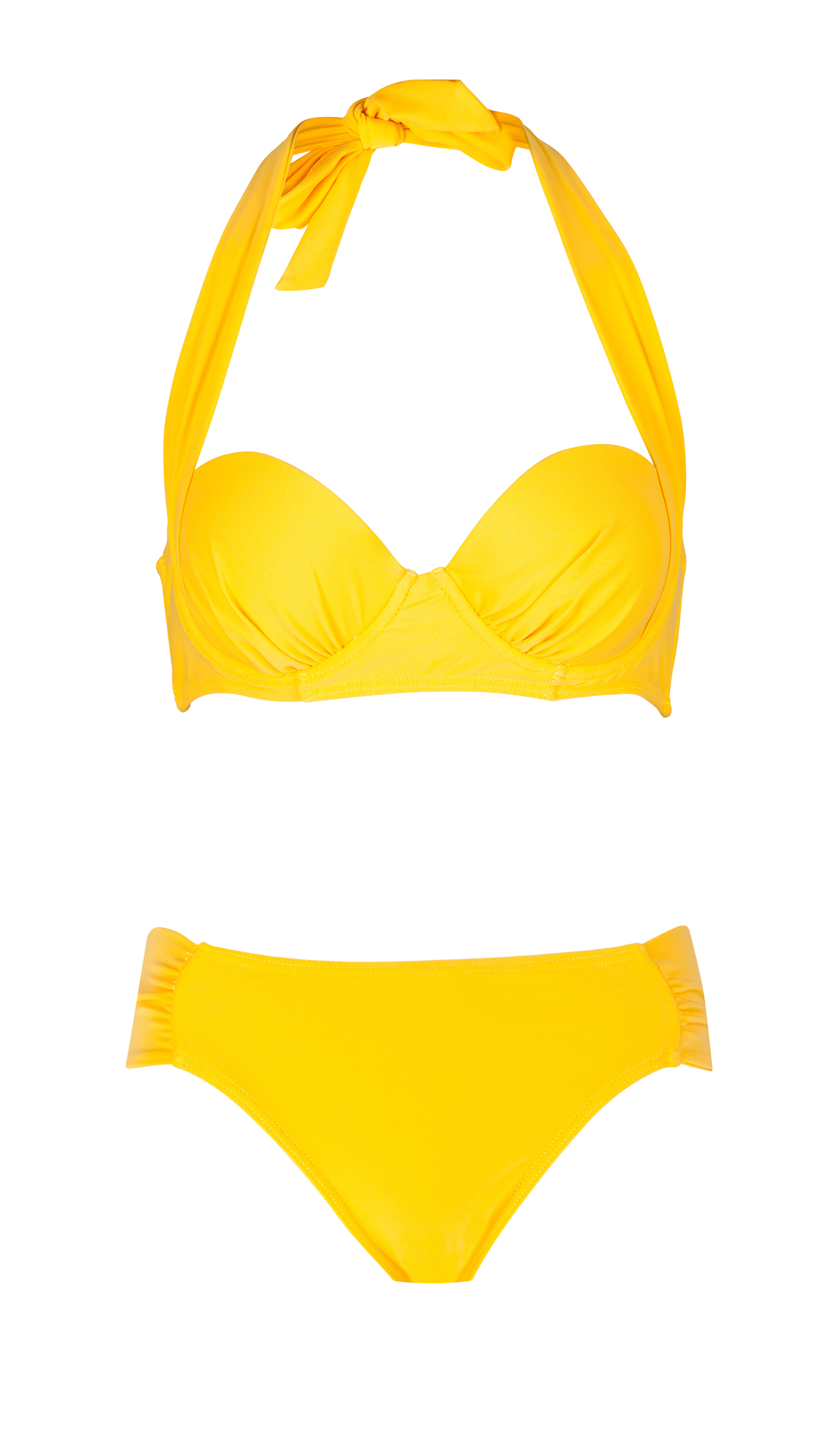 Bikini amarillo de Mer Culture