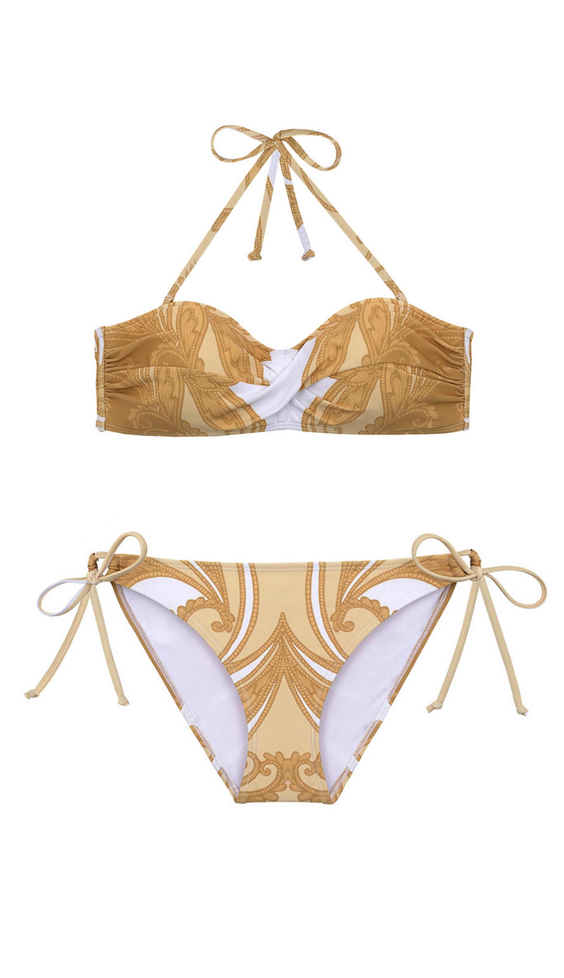 Bikini floral de Nacre