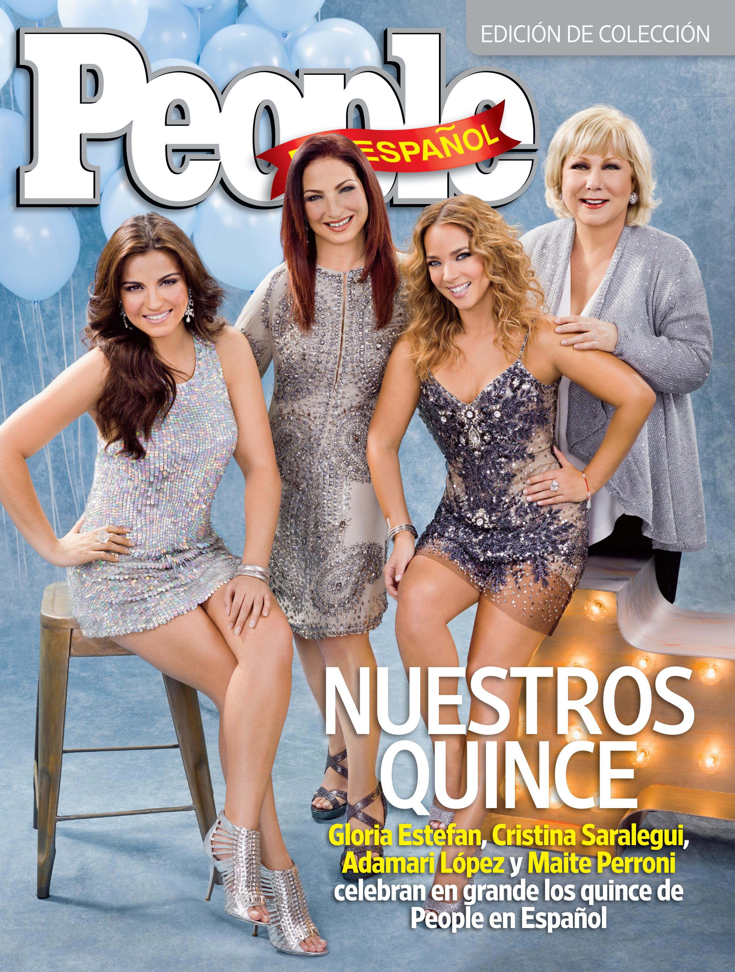 Gloria Estefan, Maite Perroni, Cristina Saralegui y Adamari Lopez - October 201 1
