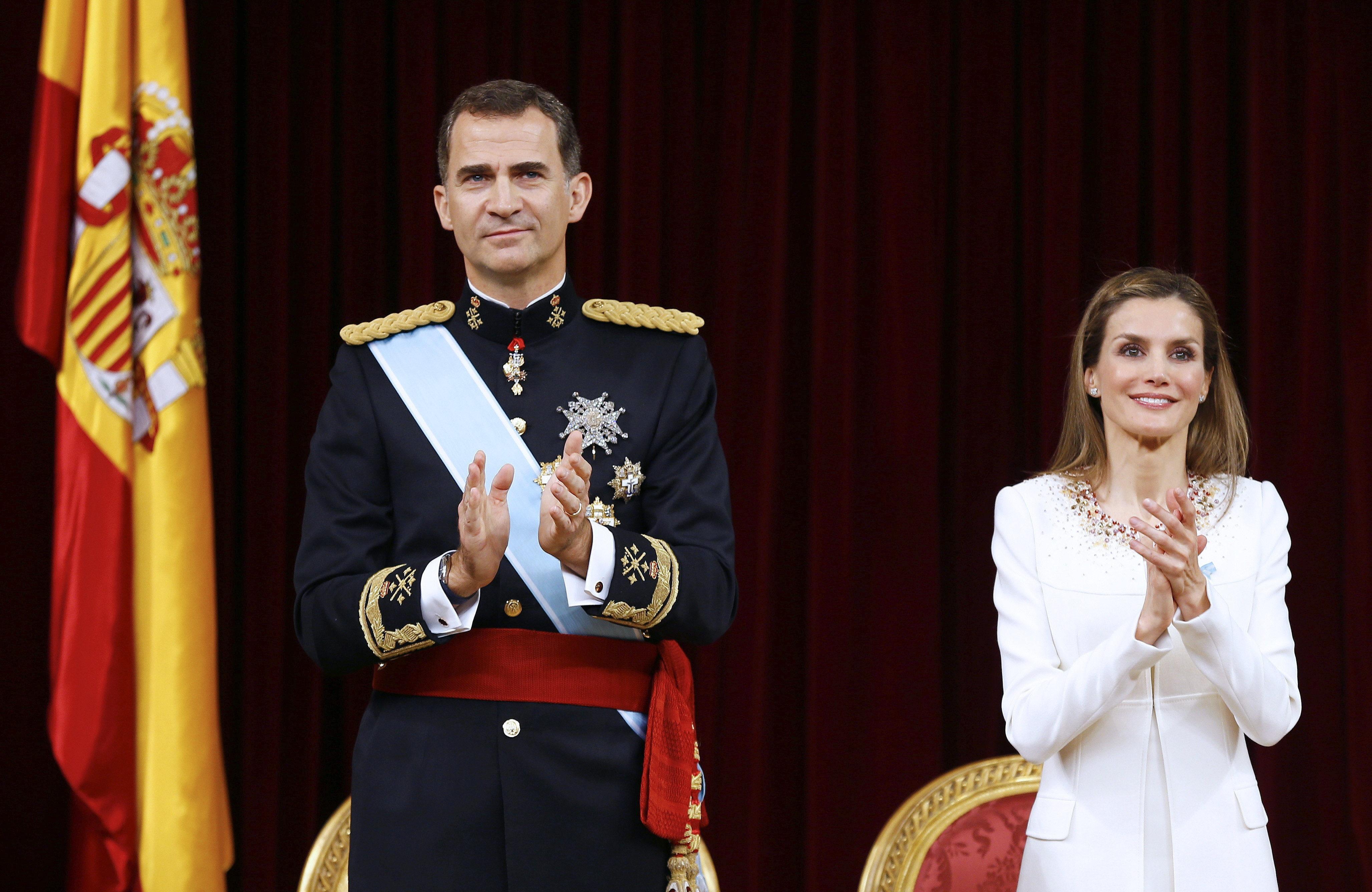 Rey Felipe VI Reina Letizia