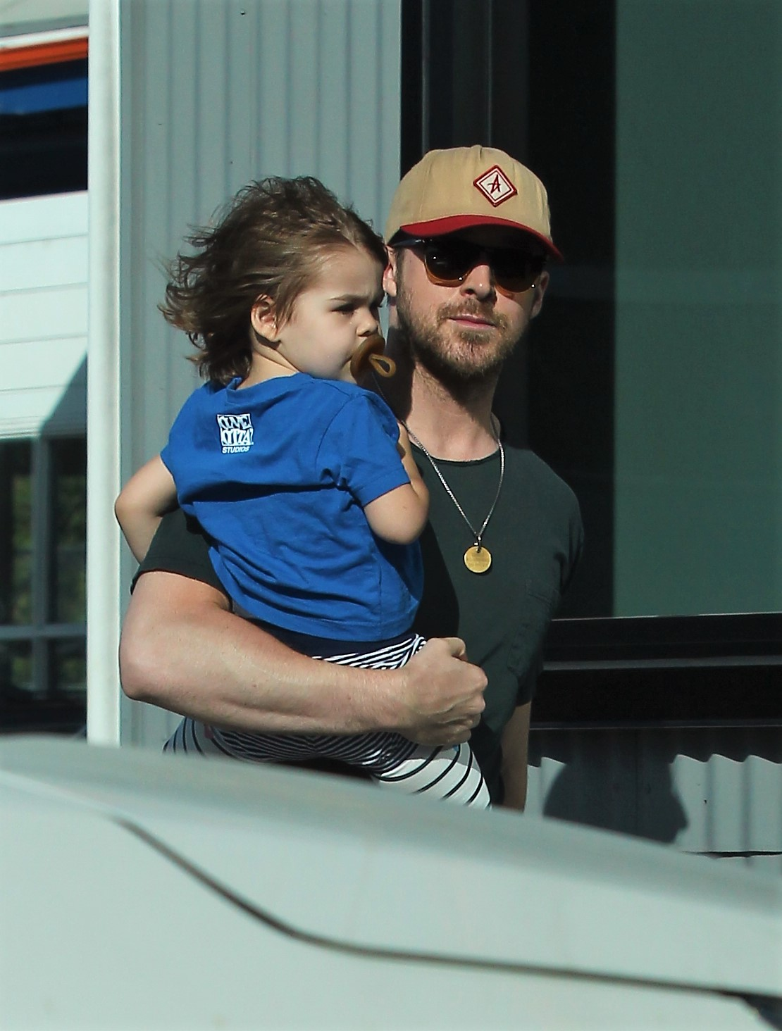 Ryan Gosling y su hija Esmeralda