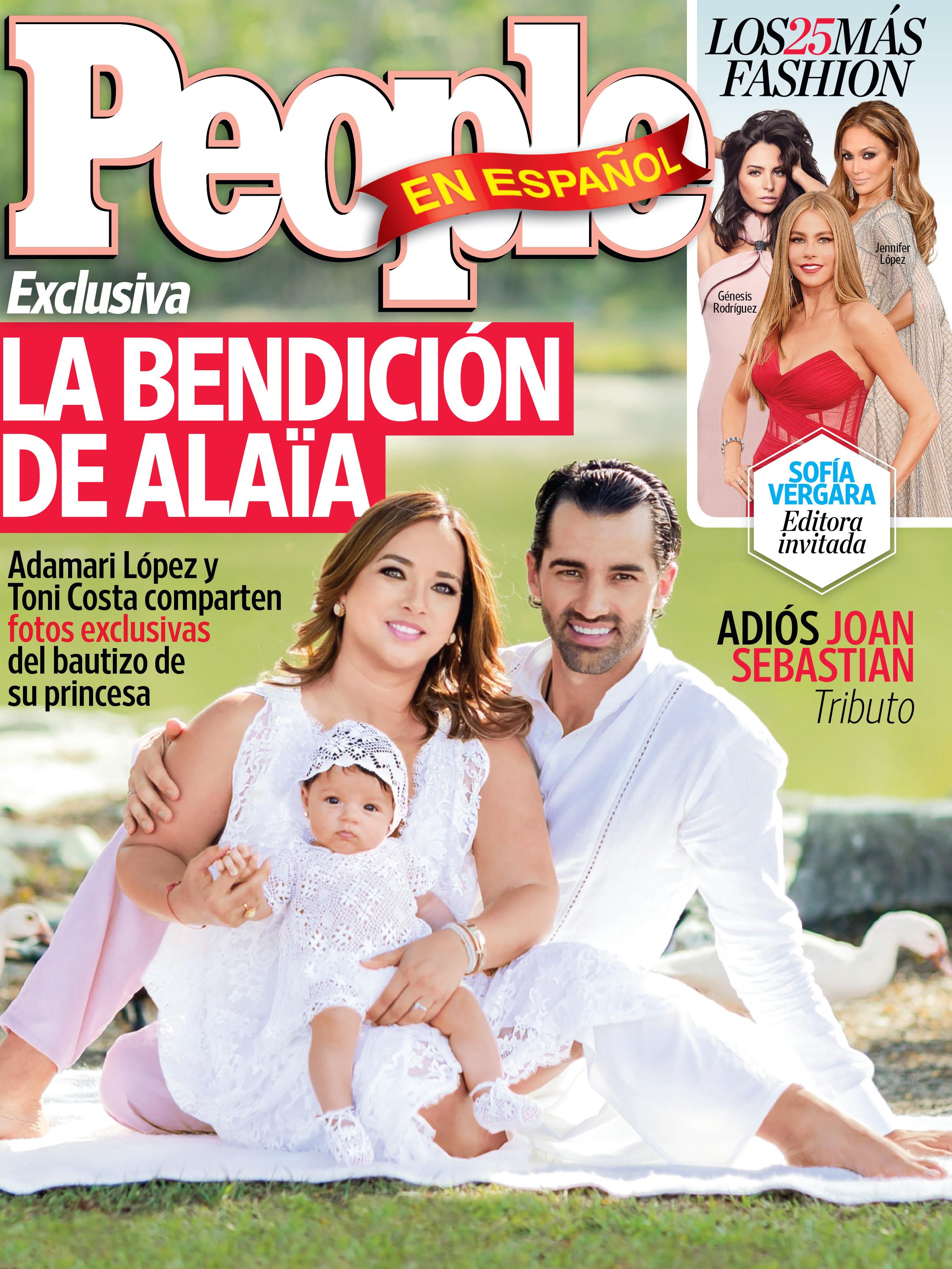 Adamari Lopez, Toni Costa y Alaia