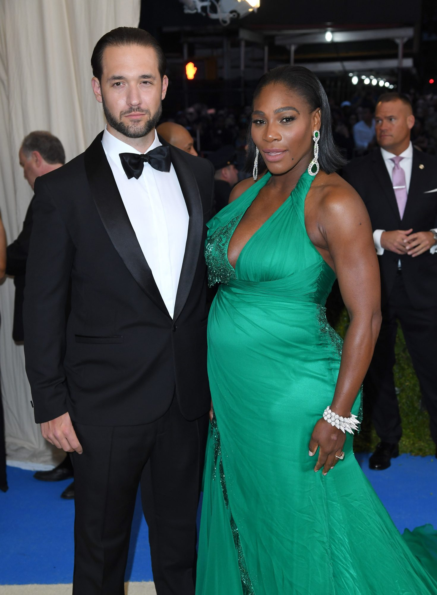 Alexis Ohanian y Serena Williams