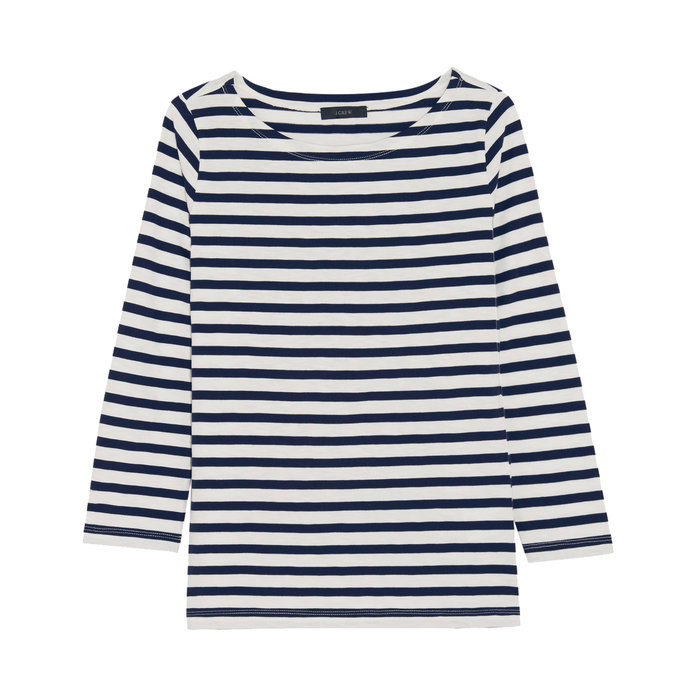 Striped shirt j crew