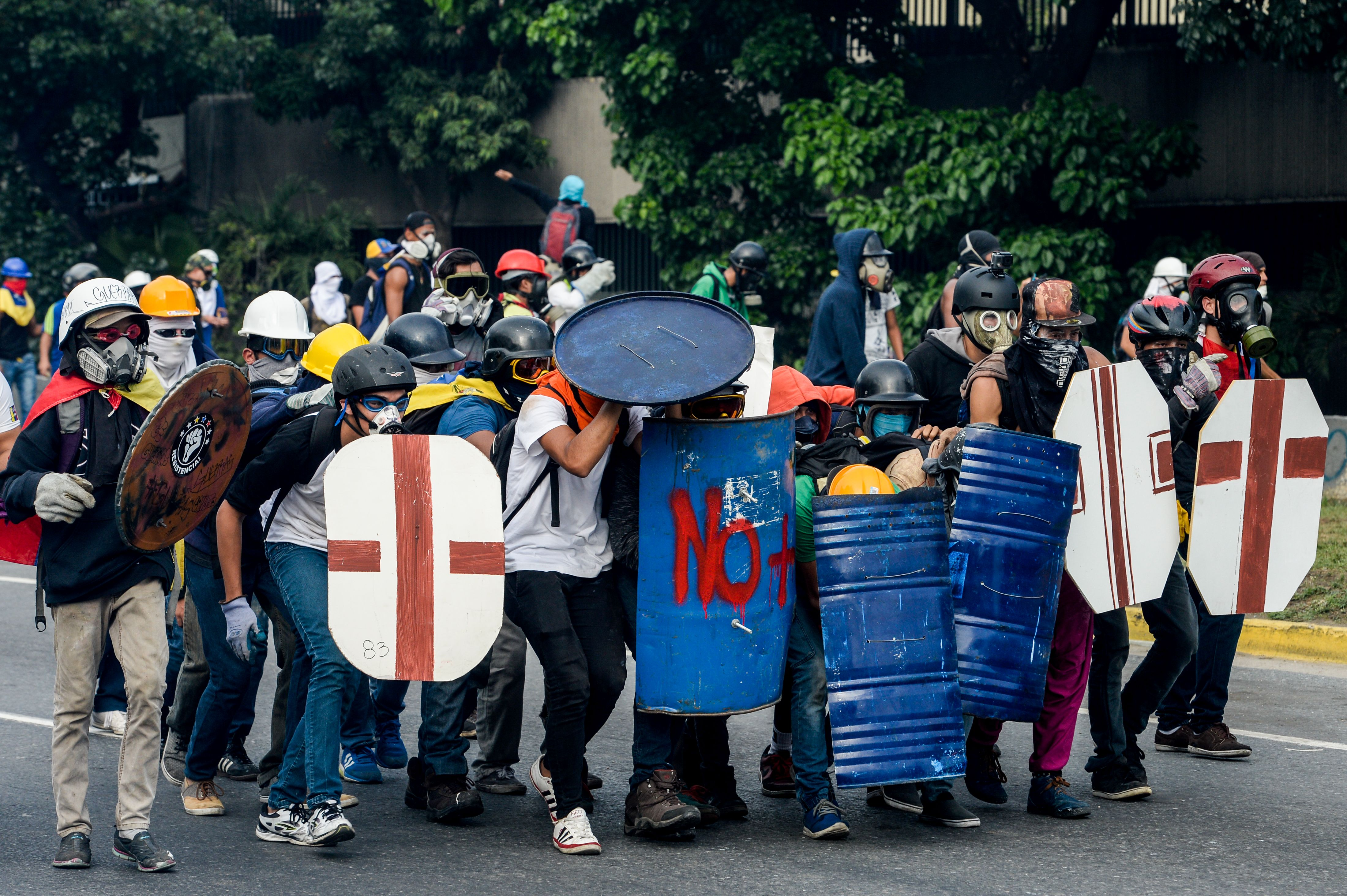 VENEZUELA-CRISIS-MAY DAY-OPPOSITION-PROTEST