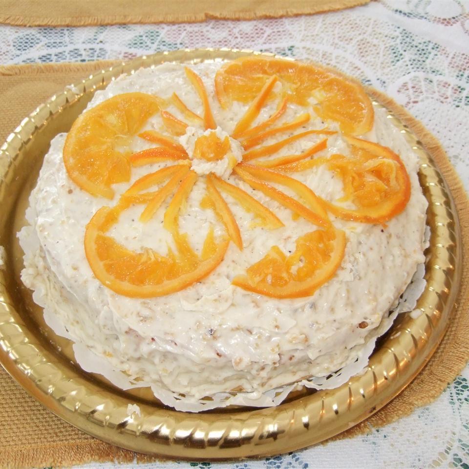 Pastel de naranja sin harina