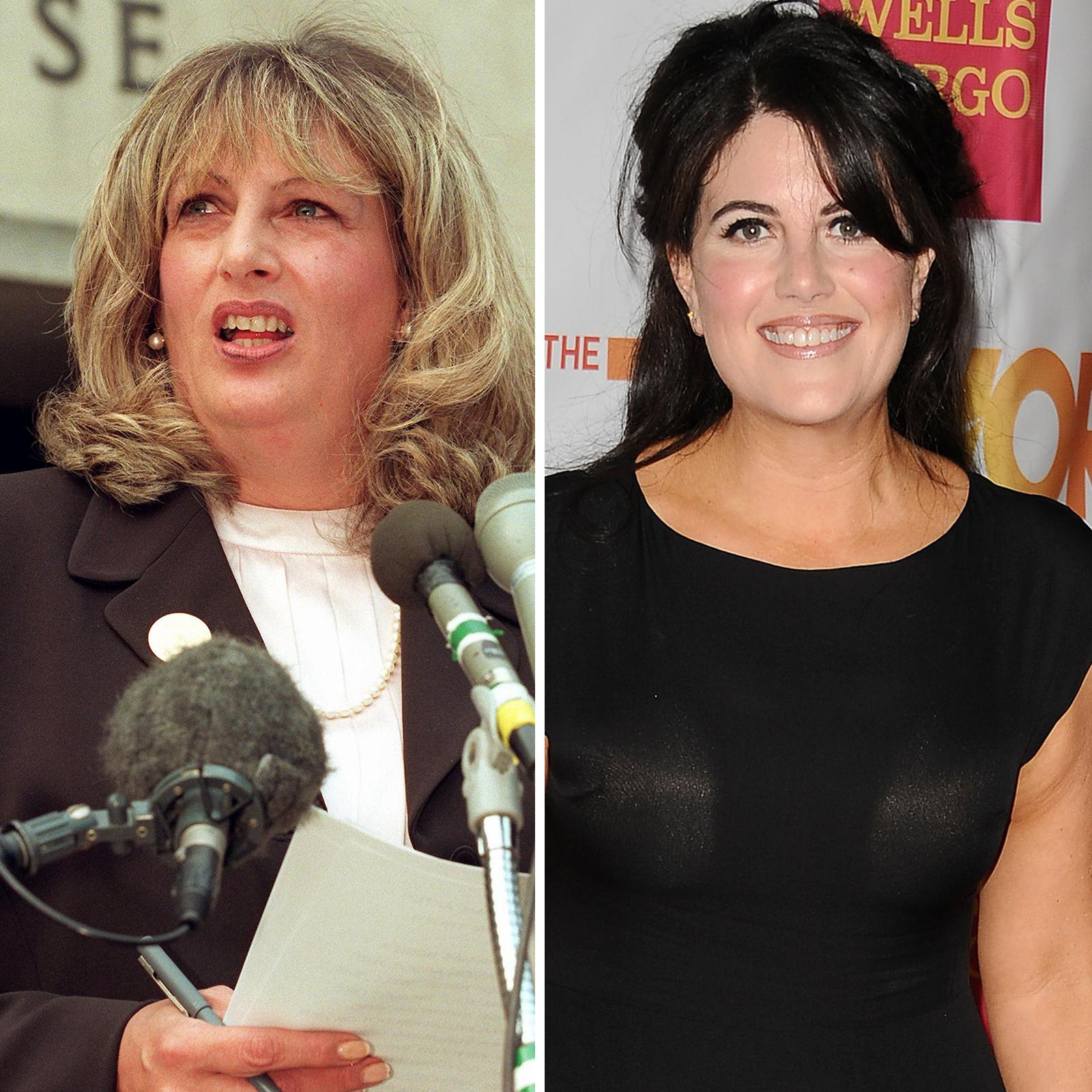 Linda Tripp y Monica Lewinsky