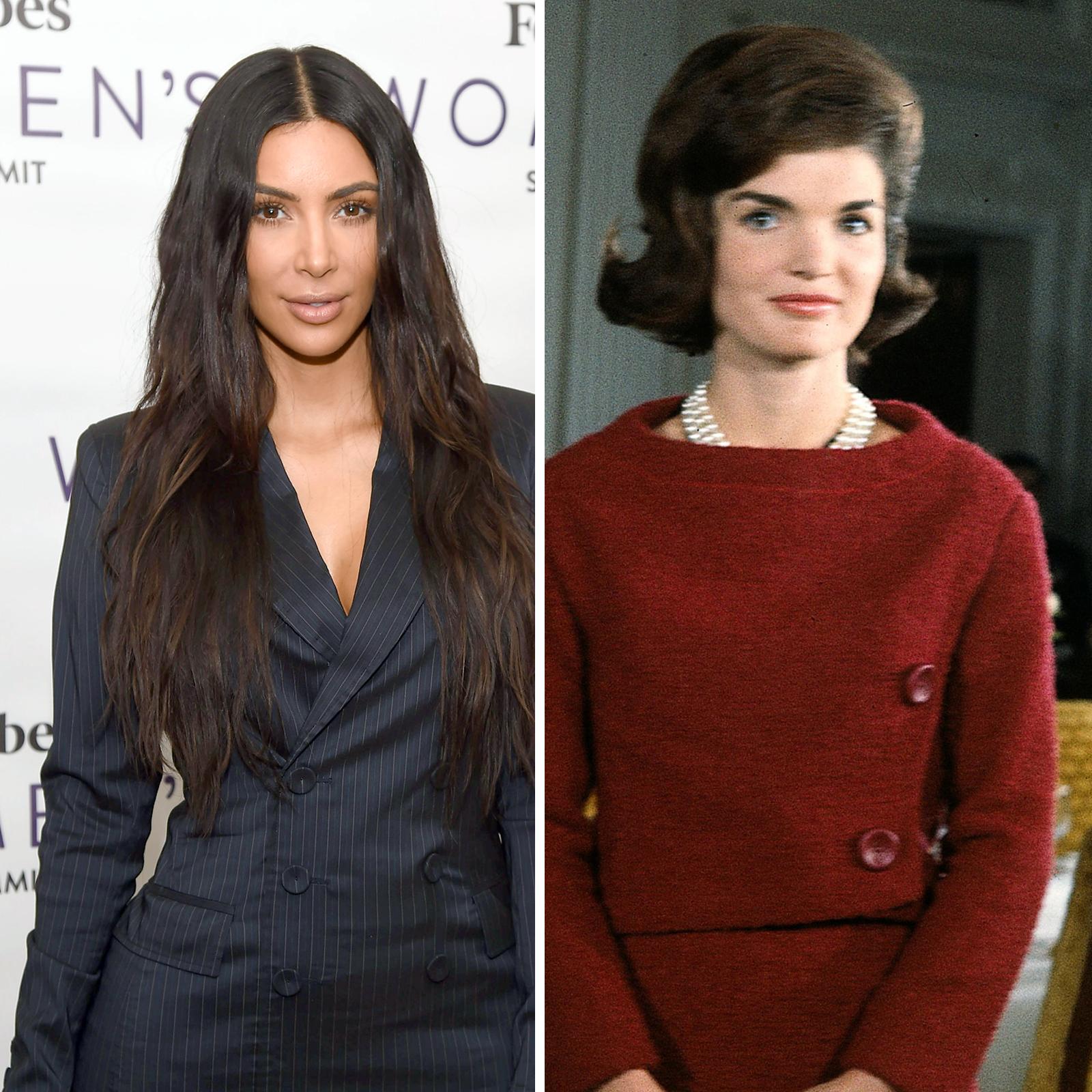 Kim Kardashian West y Jacqueline Kennedy