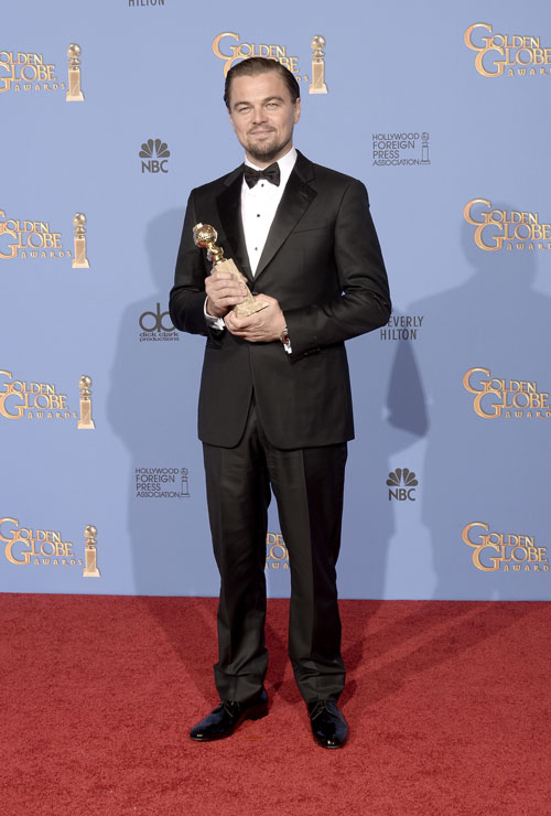 Leonardo DiCaprio, Golden Globes 2014, Ellos