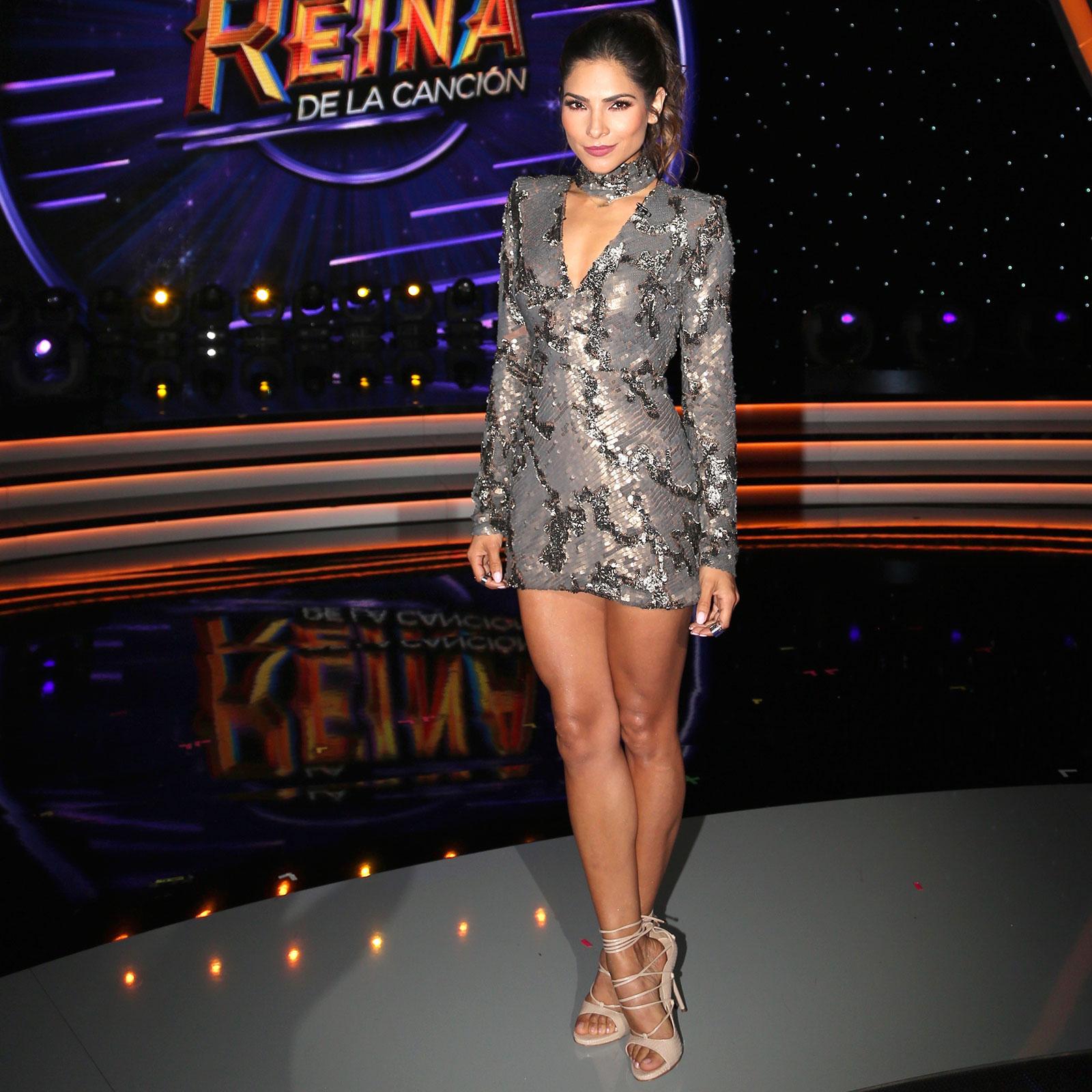 Alejandra Espinoza, look, estilo, la reina de la cancion