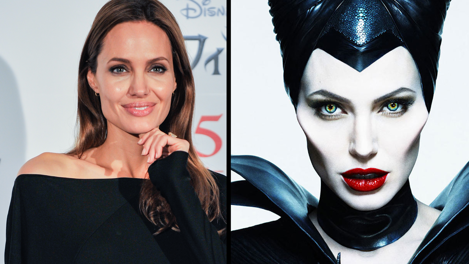 Angelina Jolie como Maleficent