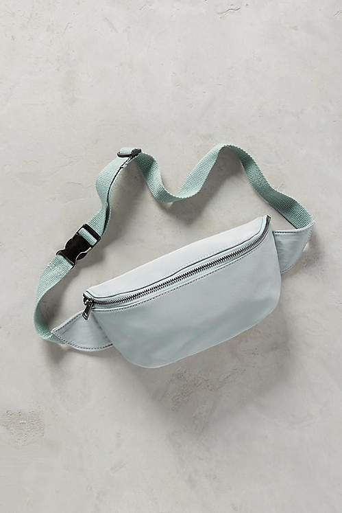 bandolera, moda, tendencia, fanny pack, Anthropologie