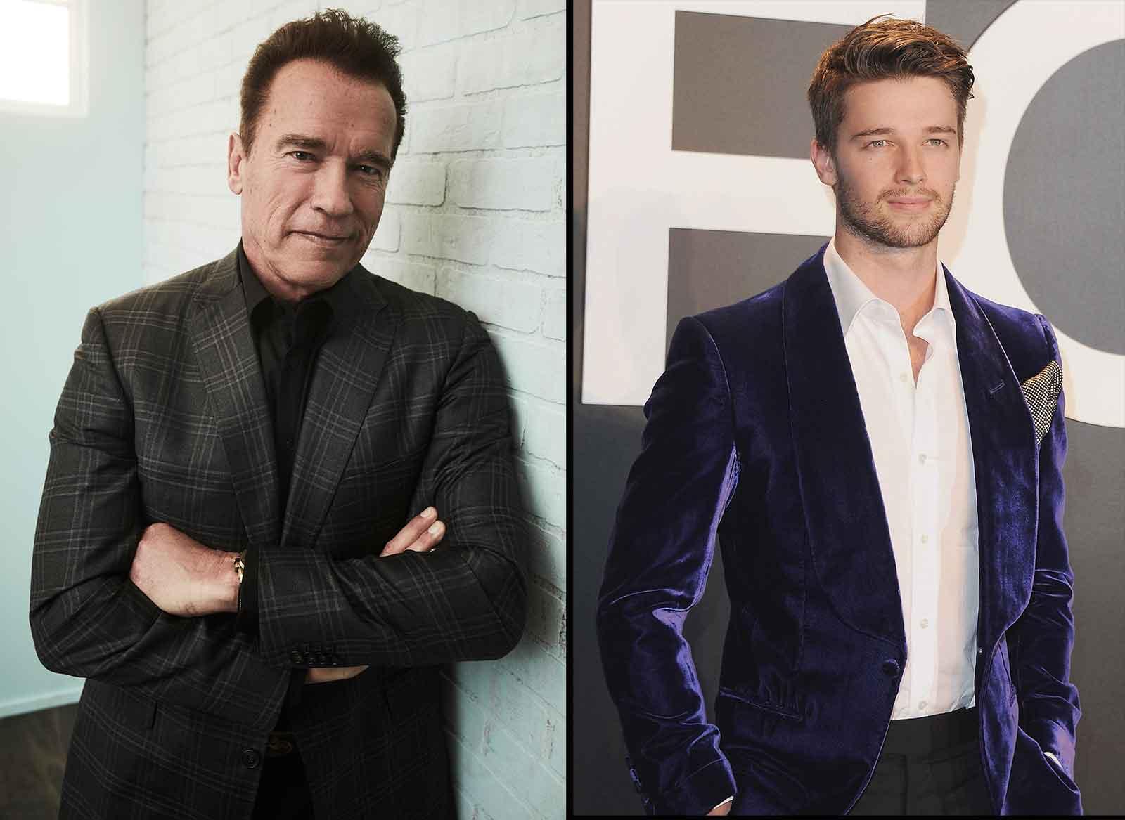 Arnold y Patrick Schwarzenegger