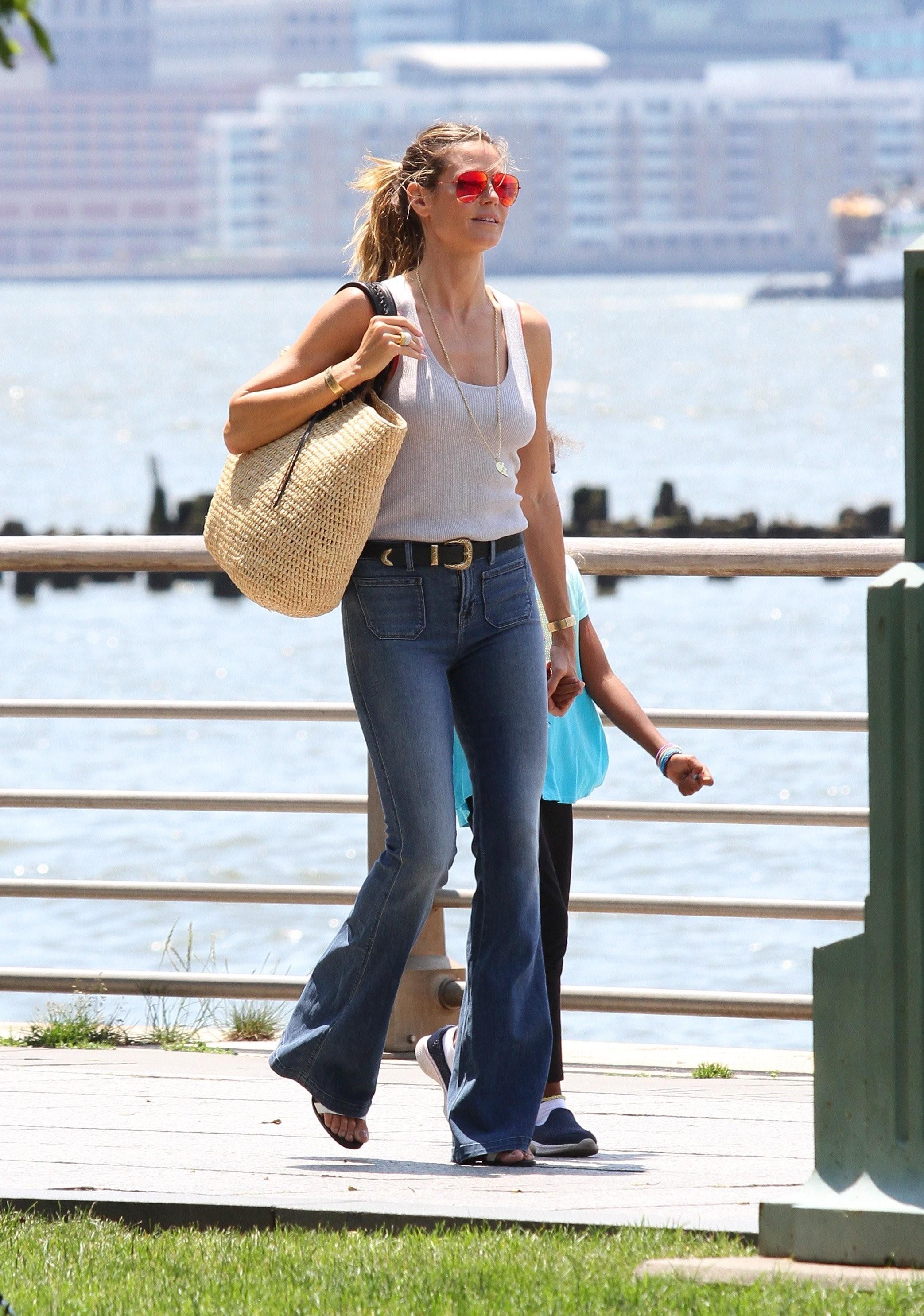 Heidi Klum, look, style, estilo