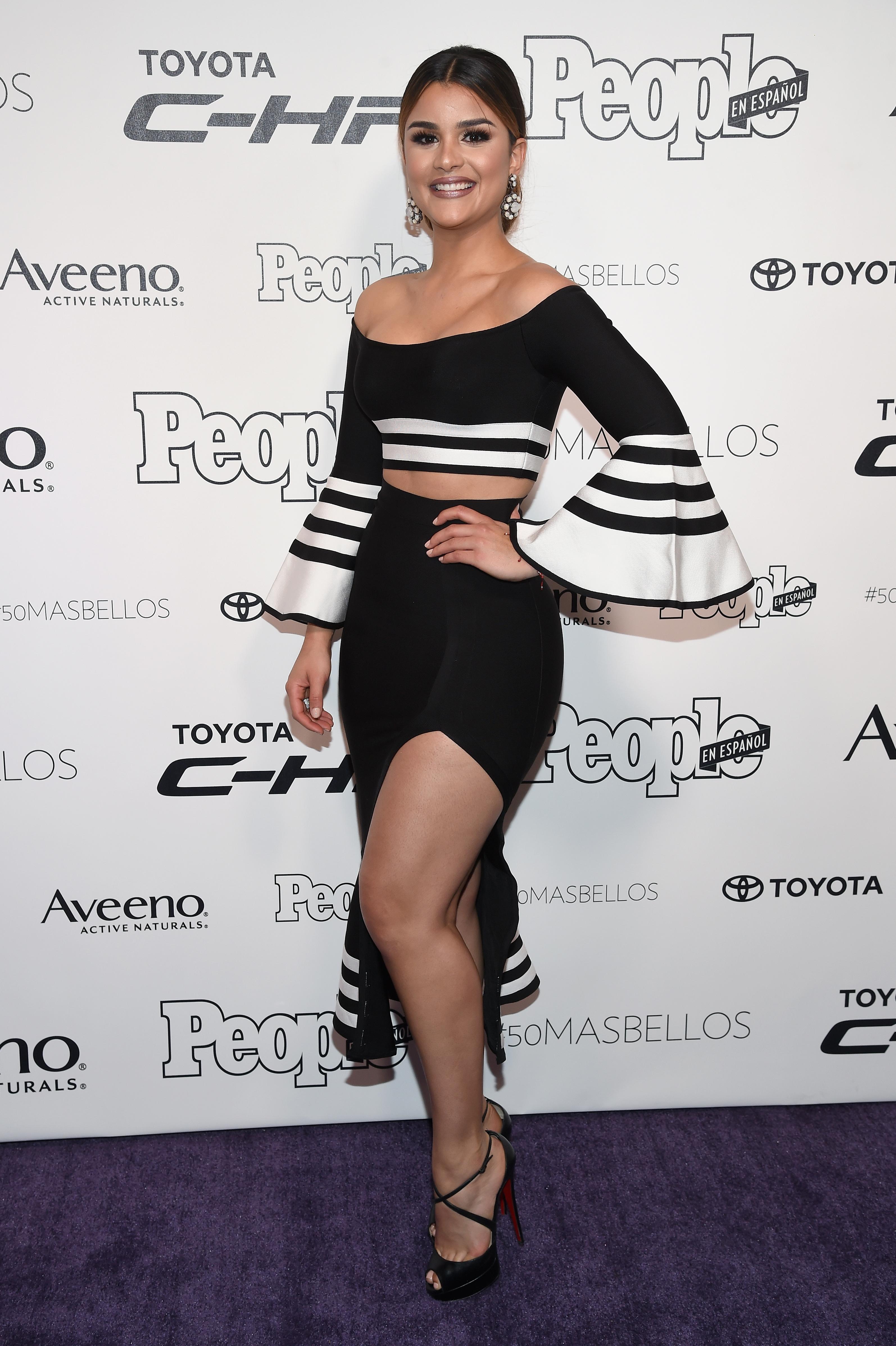 Clarissa Molina, set, conjunto, 50 mas bellos, looks, estilo