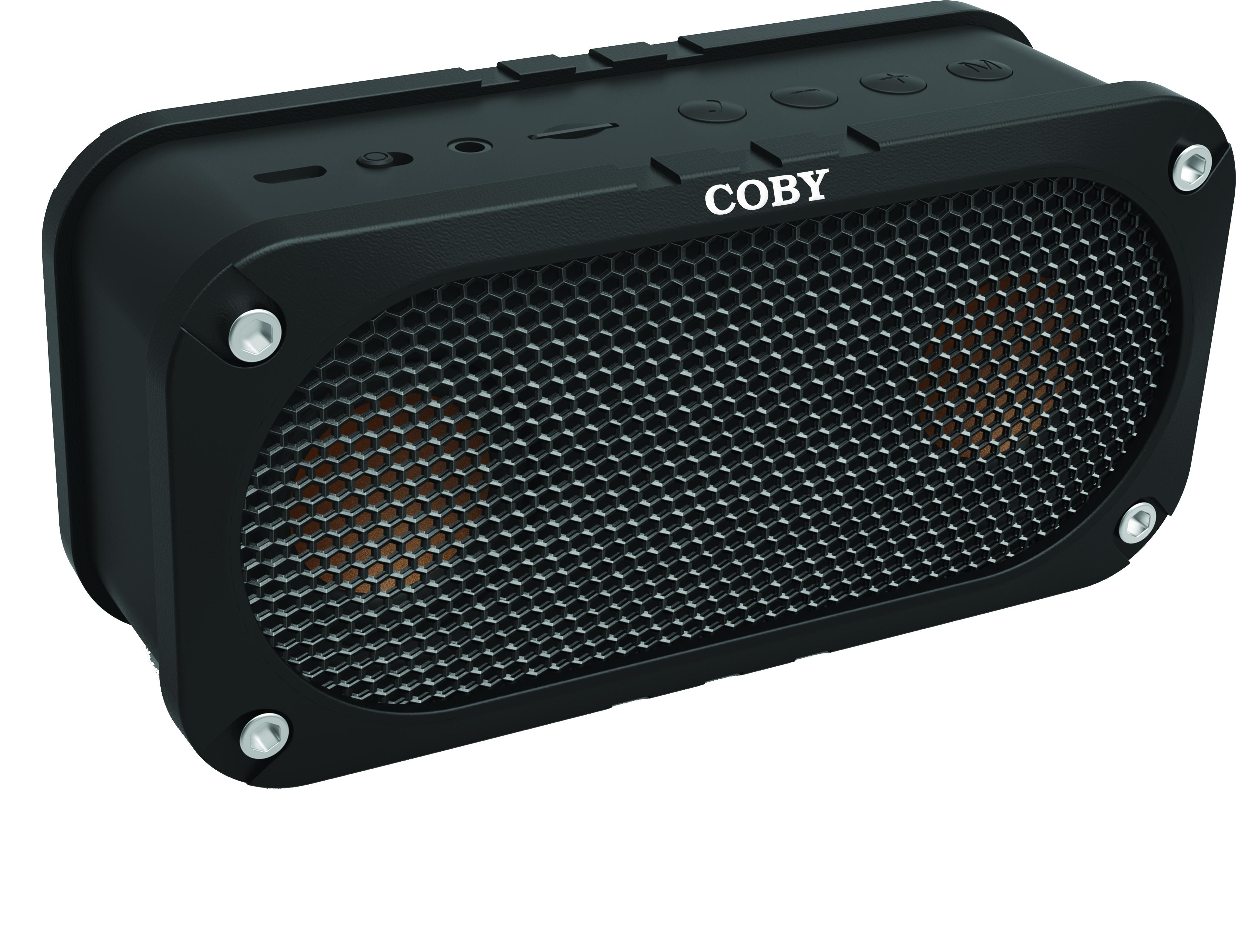 Coby - CSBT-302-BLK-Buttons