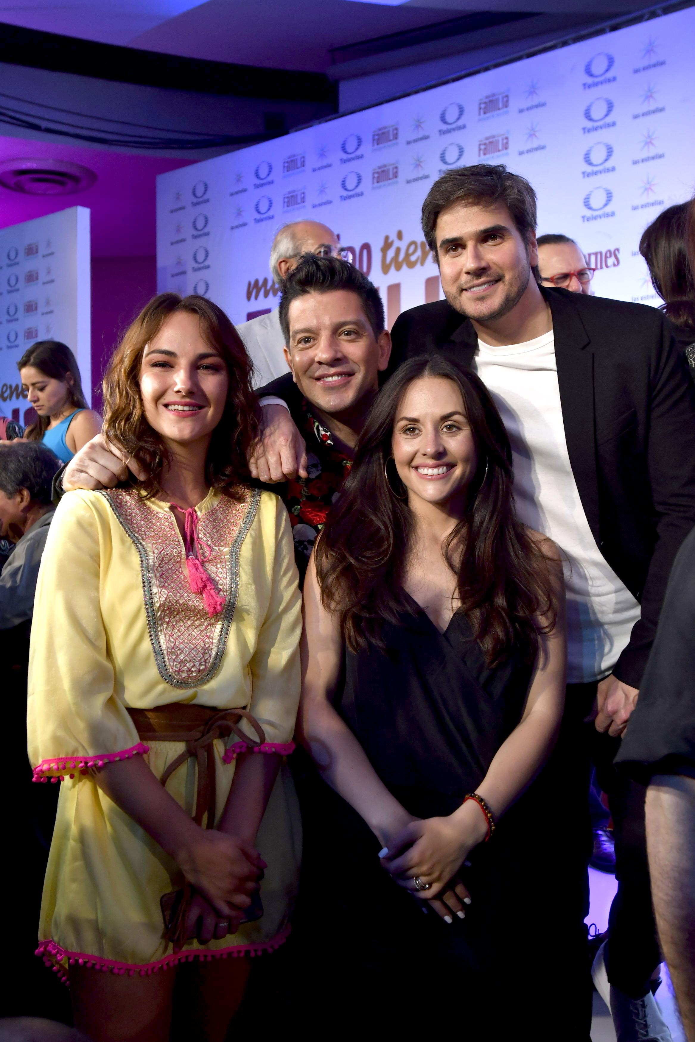 Yahir, Zuria Vega, Daniel Arenas