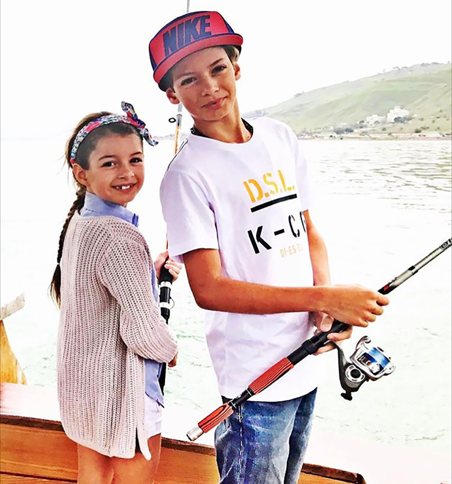 Kailey y Christopher Levy