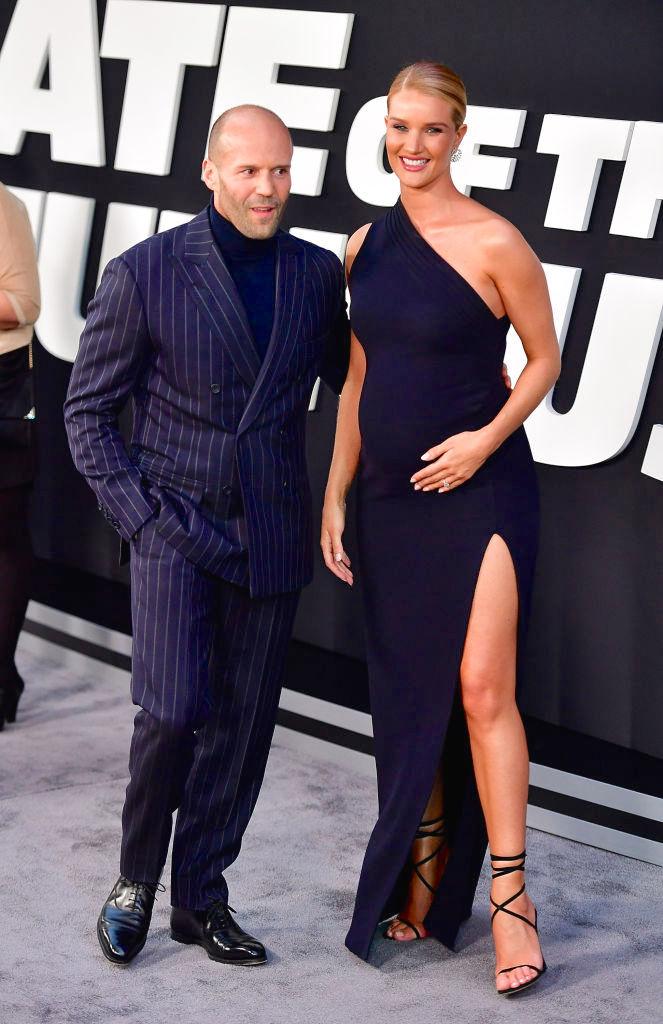 Jason Statham, Rosie Huntington-Whitely, parejas
