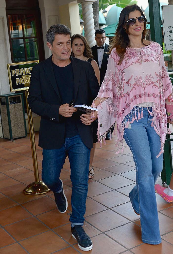 Alejandro Sanz, Raquel Perera, parejas