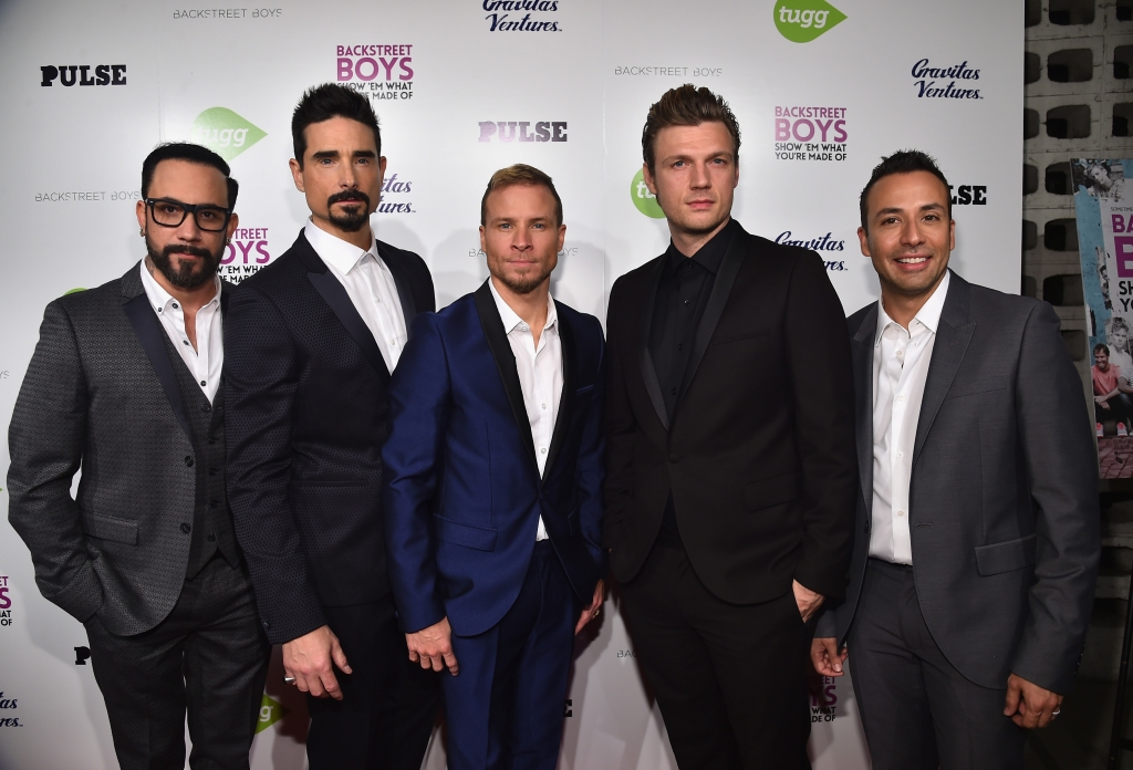 A.J. McLean, Kevin Richardson, Brian Littrell, Nick Carter y Howie Dorough