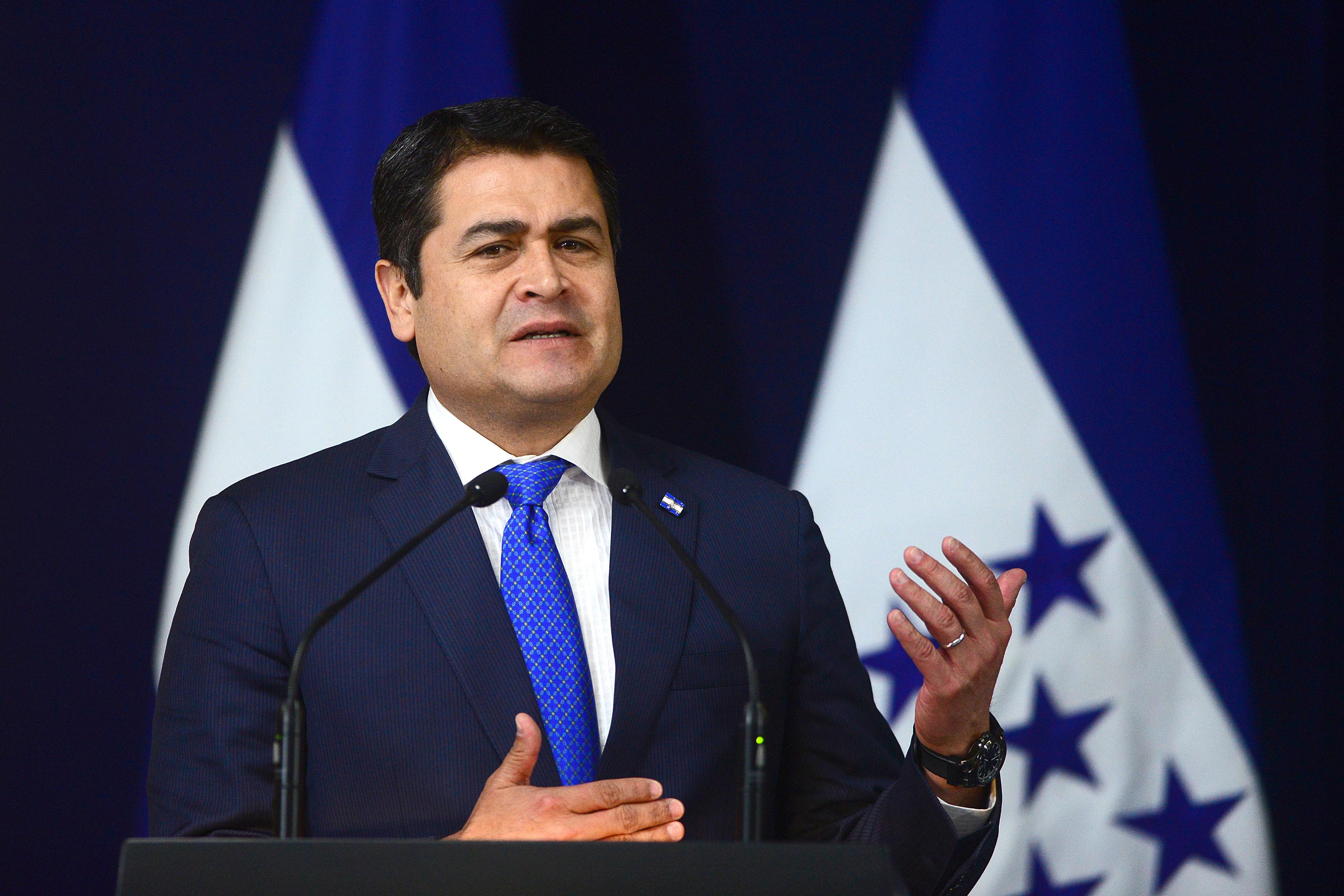 Juan Orlando Hernández, Honduras