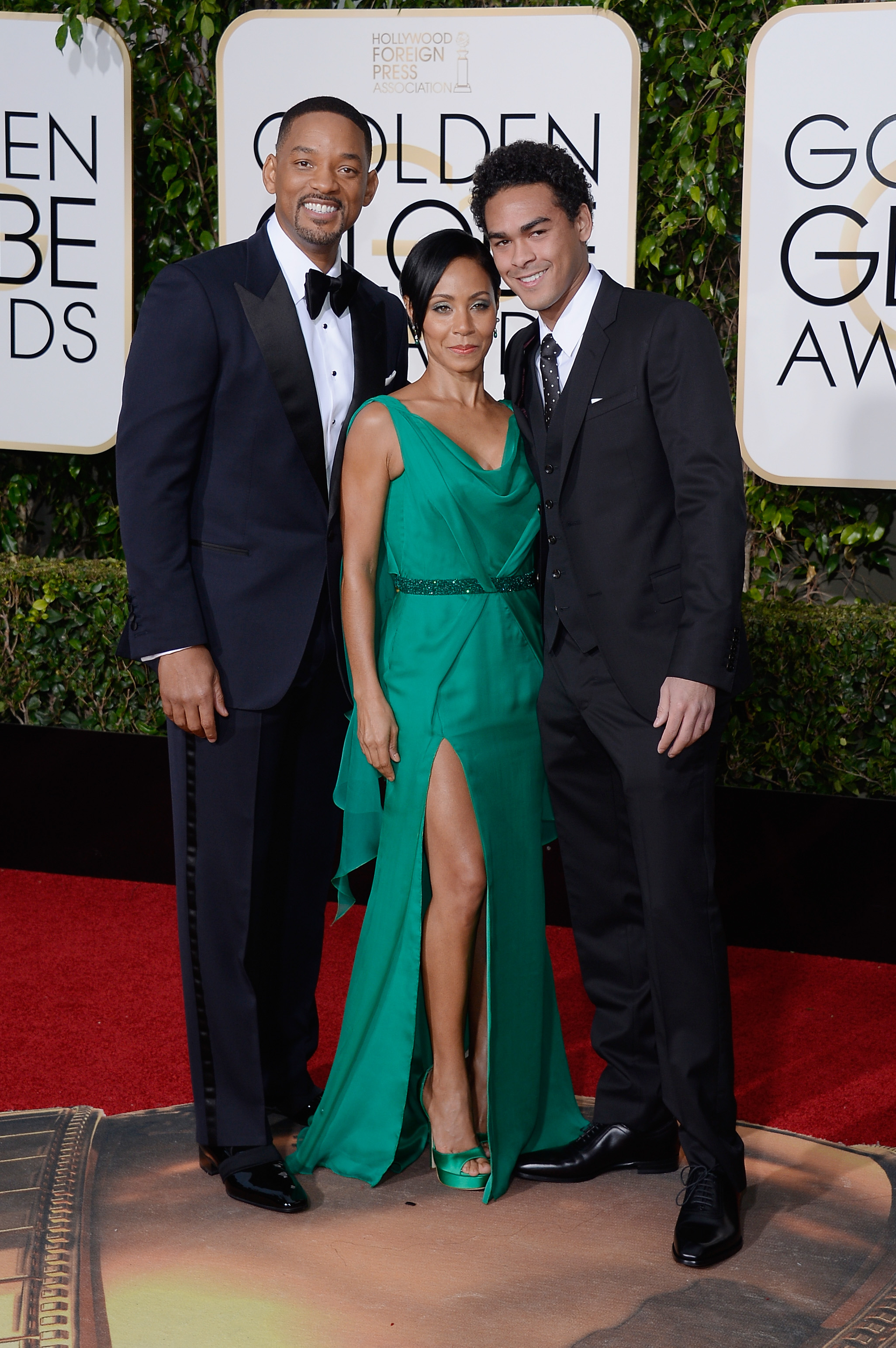 Will Smith, Jada Pinkett Smith, Trey Smith