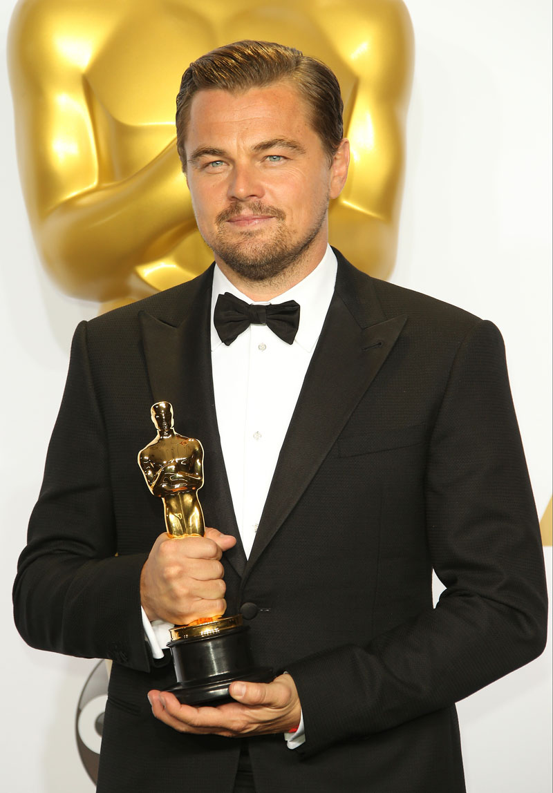 Evolución de Leonardo DiCaprio